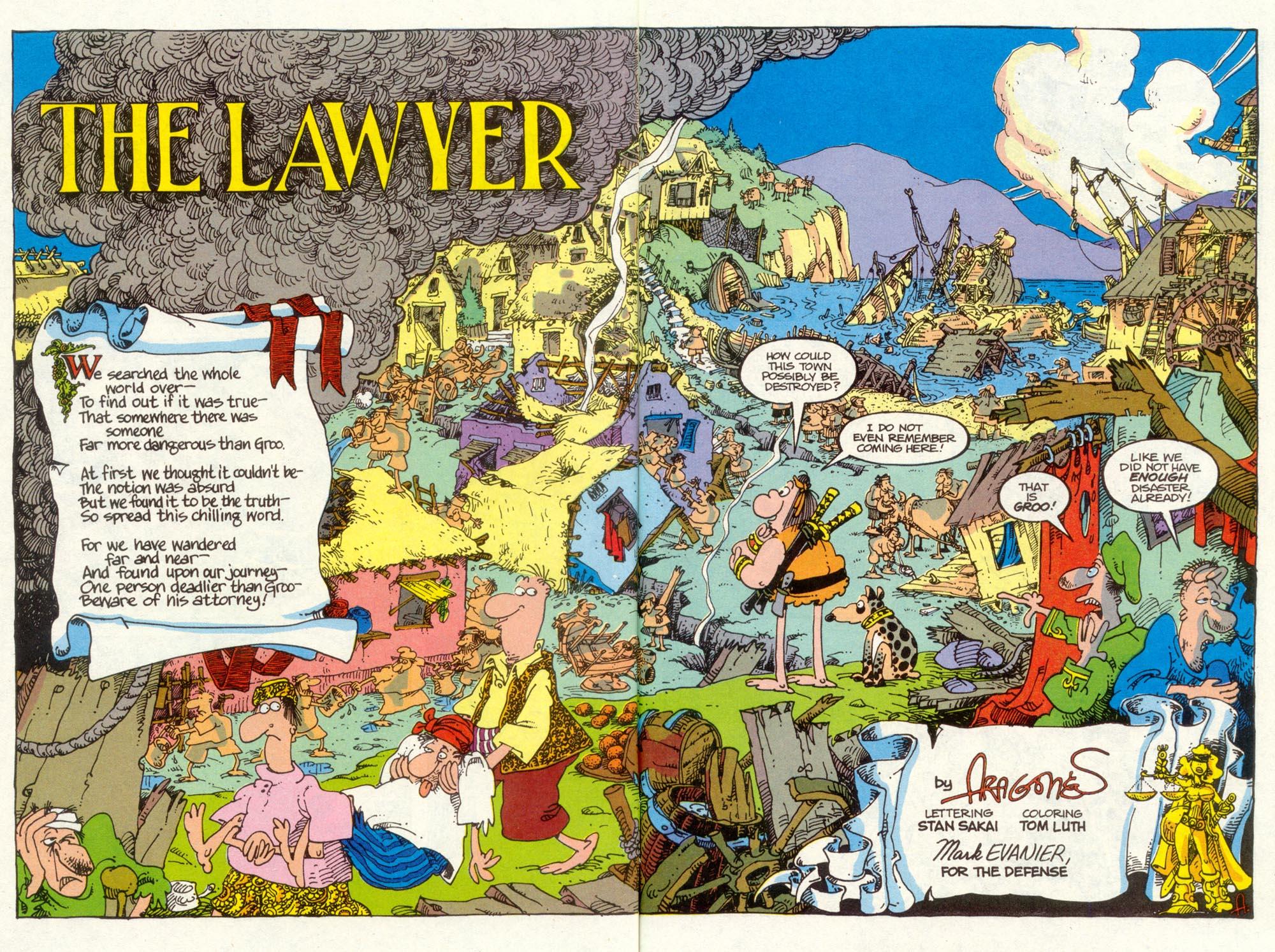 Read online Sergio Aragonés Groo the Wanderer comic -  Issue #90 - 4