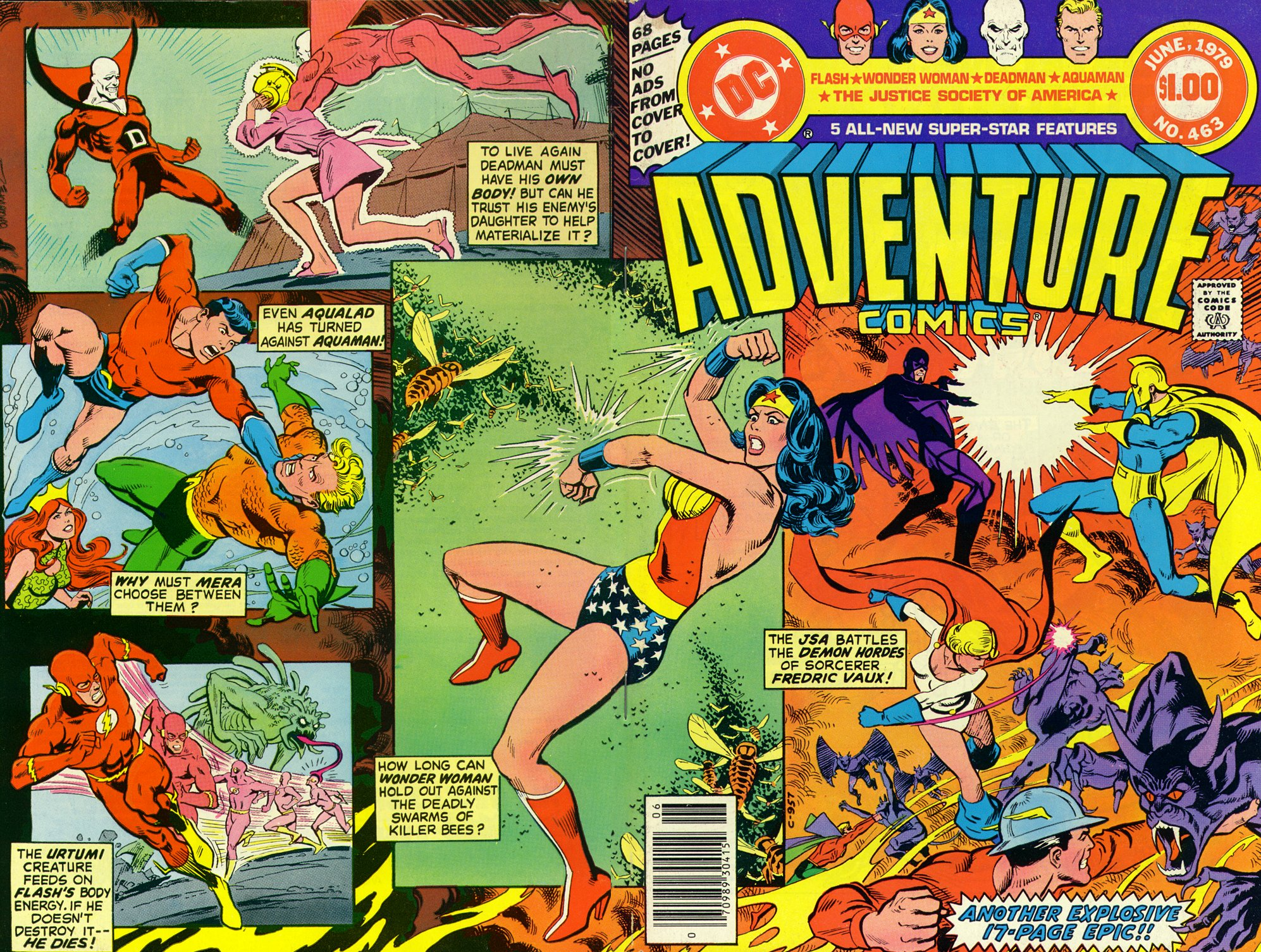 Read online Adventure Comics (1938) comic -  Issue #463 - 1