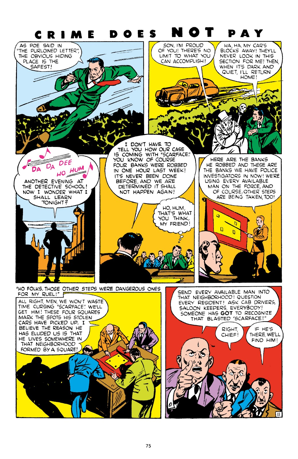 Read online Crime Does Not Pay Archives comic -  Issue # TPB 4 (Part 1) - 75