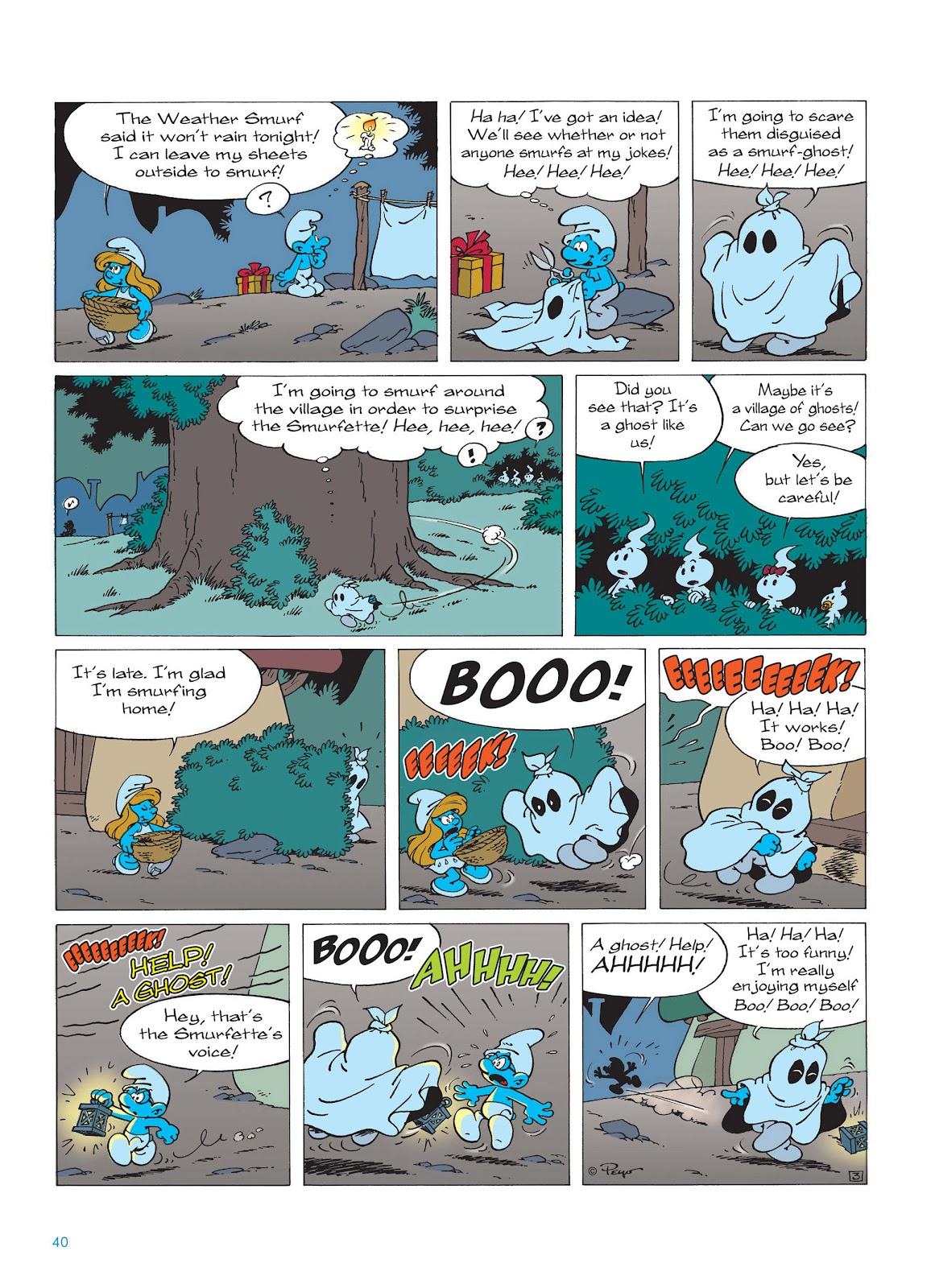 Read online The Smurfs comic -  Issue #15 - 41