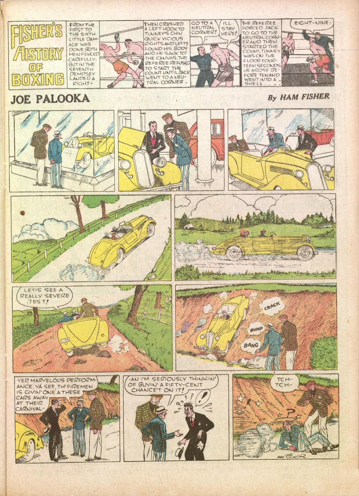 Read online Famous Funnies comic -  Issue #35 - 19