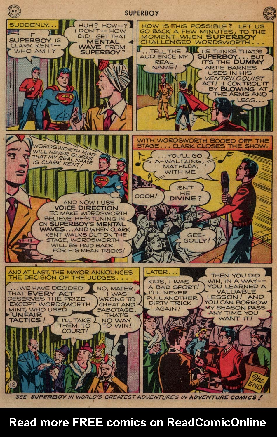 Superboy (1949) issue 3 - Page 40