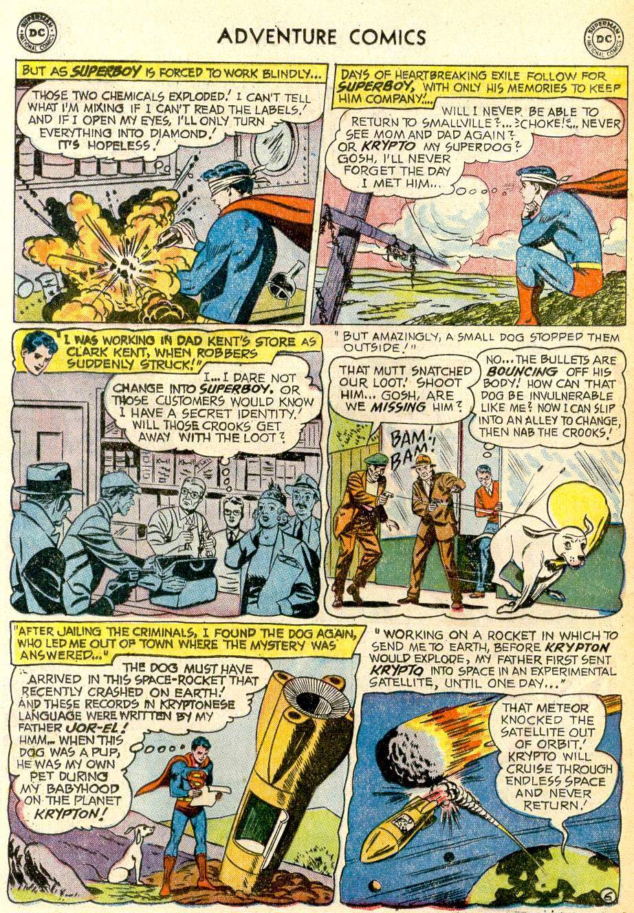 Read online Adventure Comics (1938) comic -  Issue #259 - 8