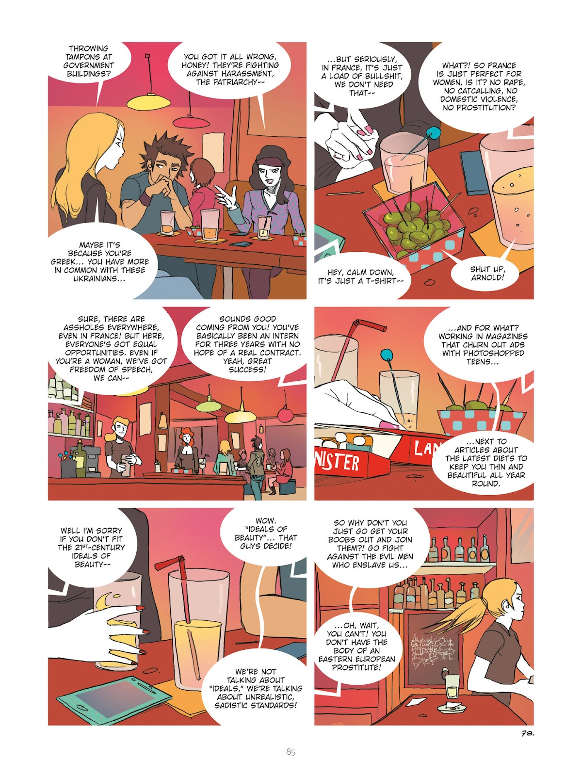 Read online Diary of A Femen comic -  Issue # TPB - 87