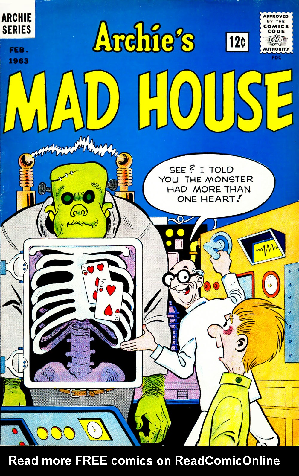 Archie's Madhouse issue 24 - Page 1