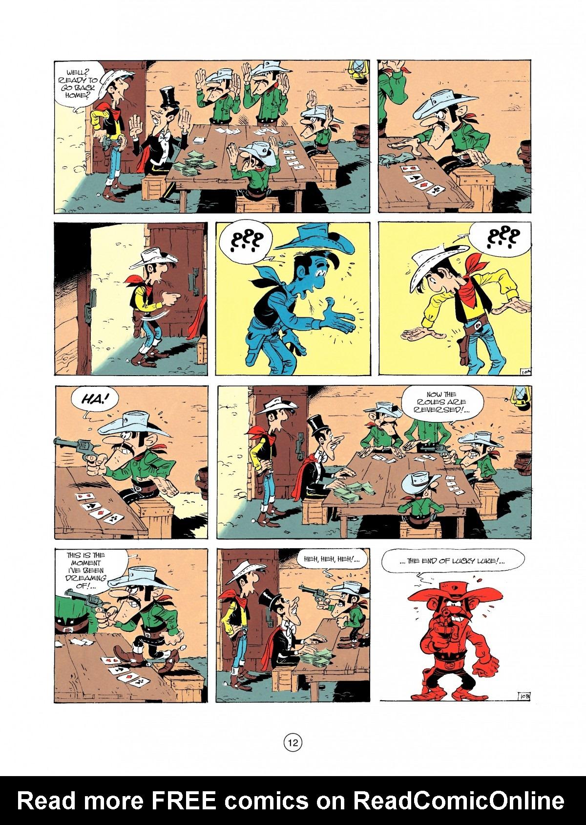 Read online A Lucky Luke Adventure comic -  Issue #37 - 12