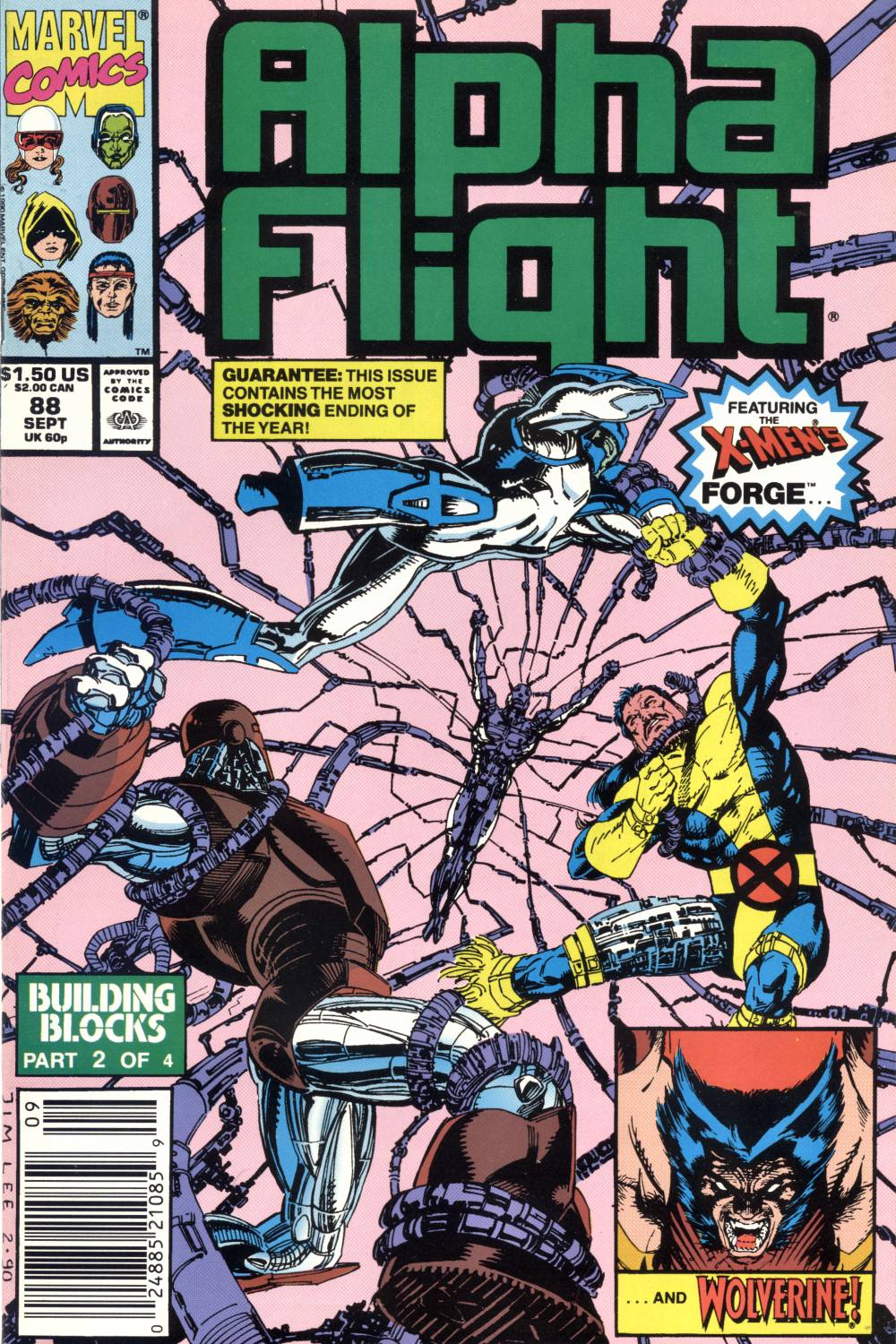 Read online Alpha Flight (1983) comic -  Issue #88 - 1