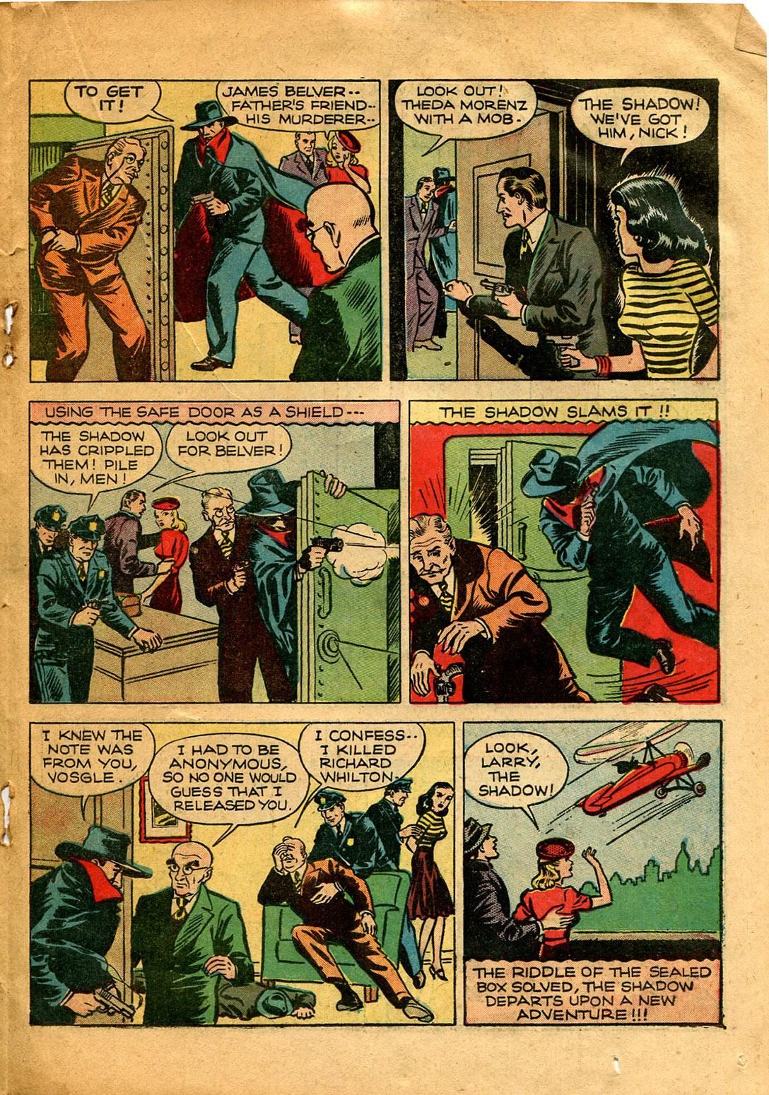 Read online Shadow Comics comic -  Issue #9 - 35