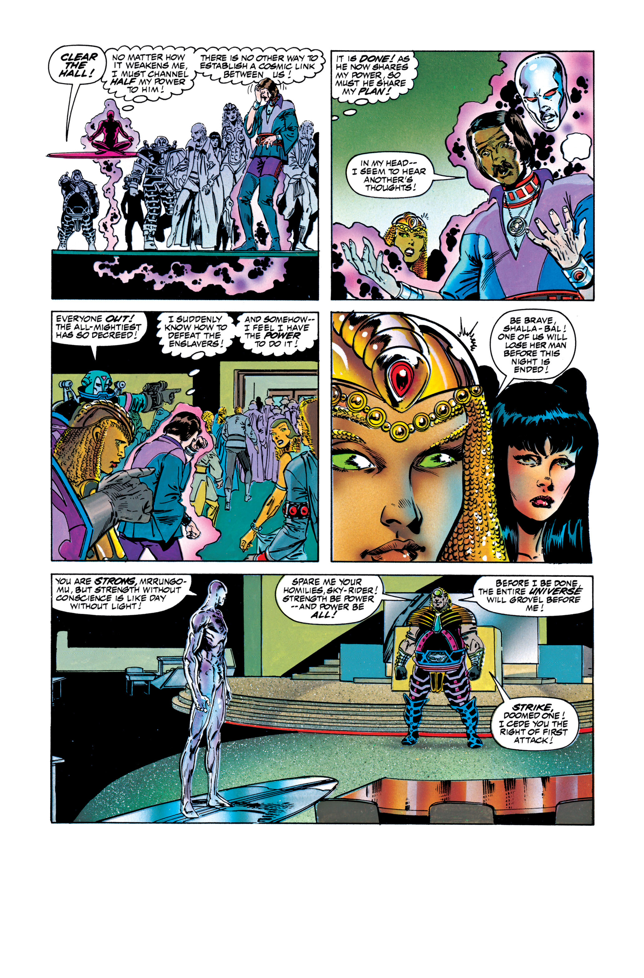 Read online Silver Surfer: Parable comic -  Issue # TPB - 113