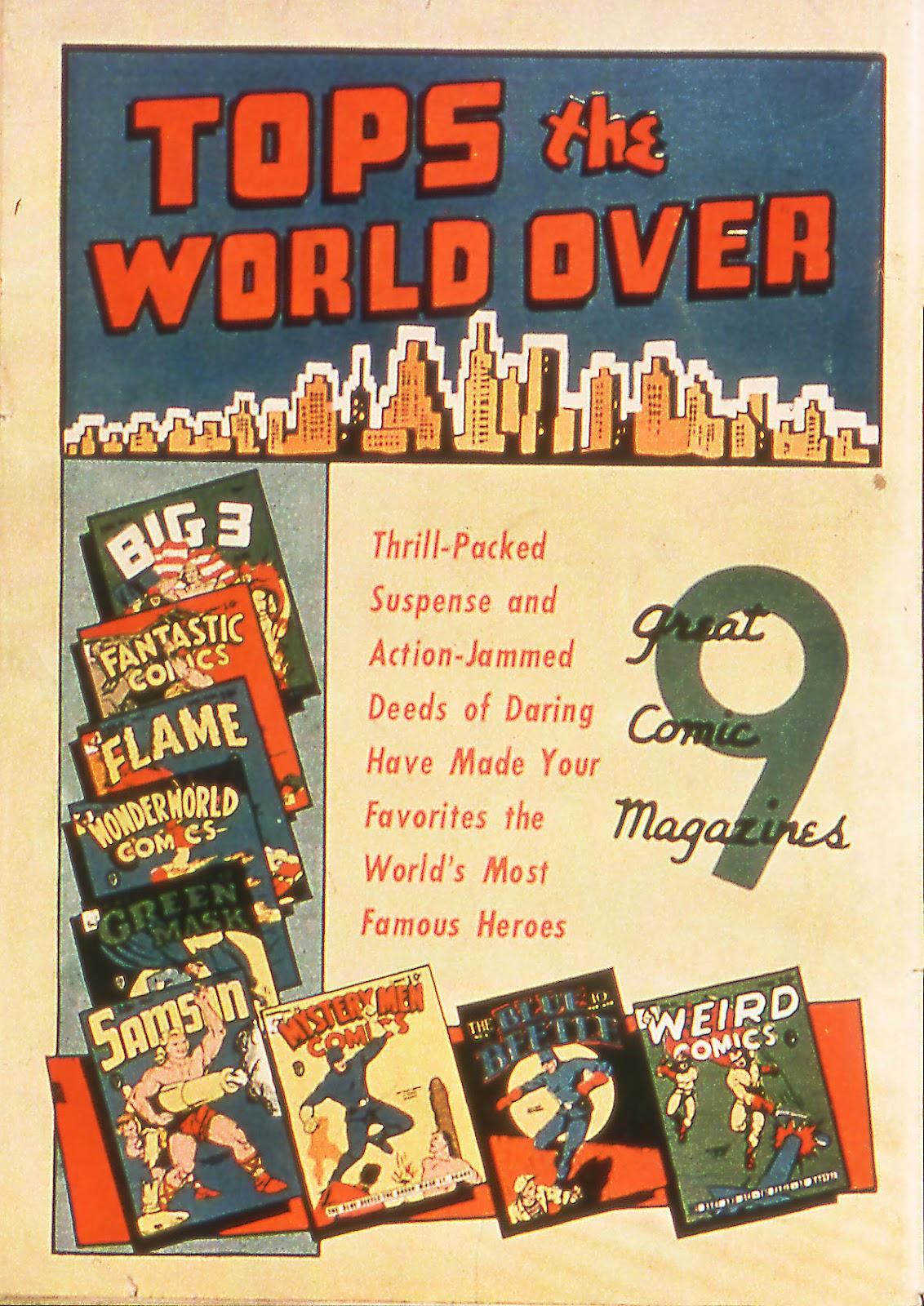 Read online Fantastic Comics comic -  Issue #18 - 68
