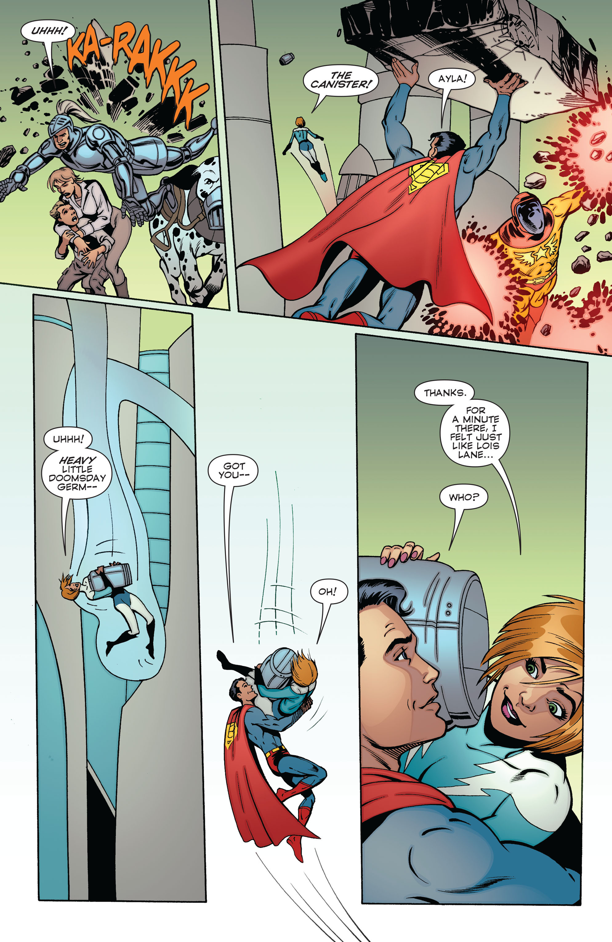 Read online Convergence Superboy and the Legion of Super-Heroes comic -  Issue #2 - 20