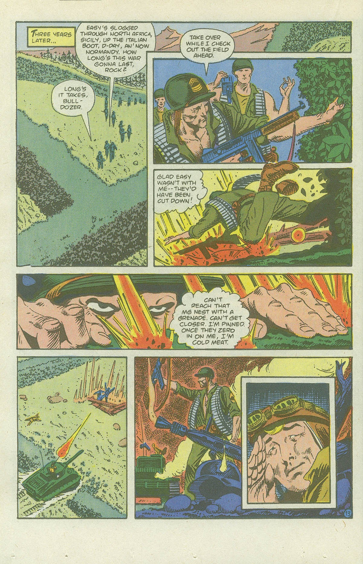 Read online Sgt. Rock comic -  Issue #419 - 18