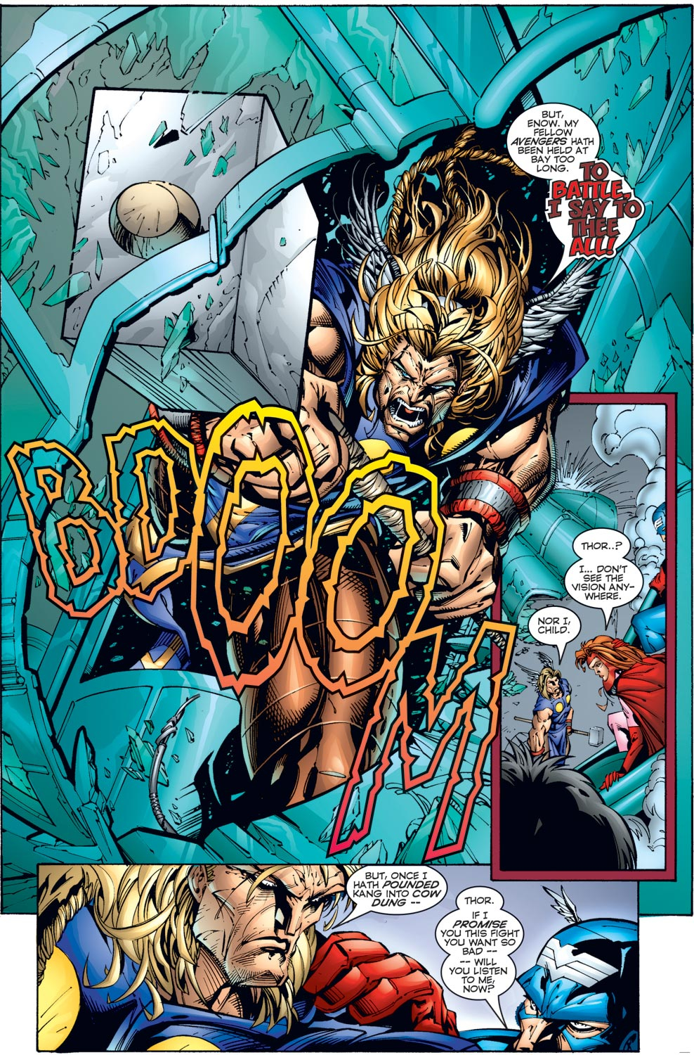 Read online Avengers (1996) comic -  Issue #3 - 9