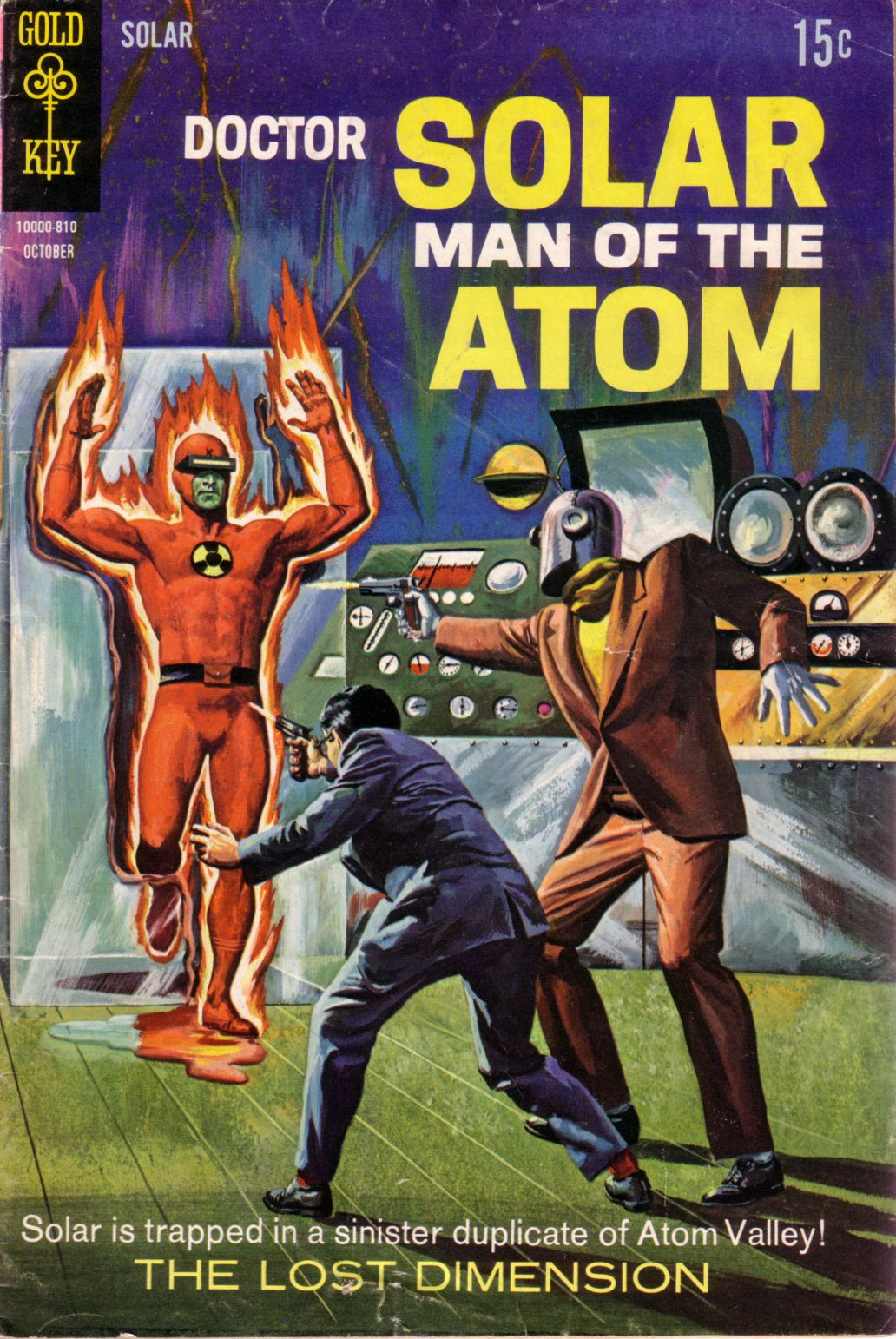 Doctor Solar, Man of the Atom (1962) 25 Page 1