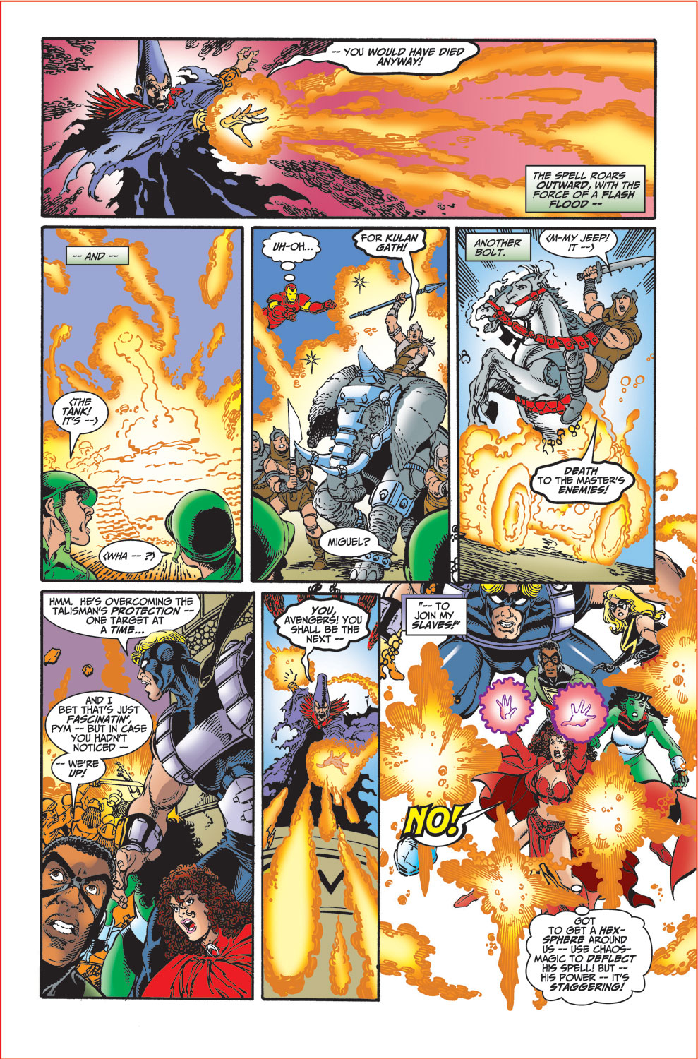 Read online Avengers (1998) comic -  Issue #30 - 12