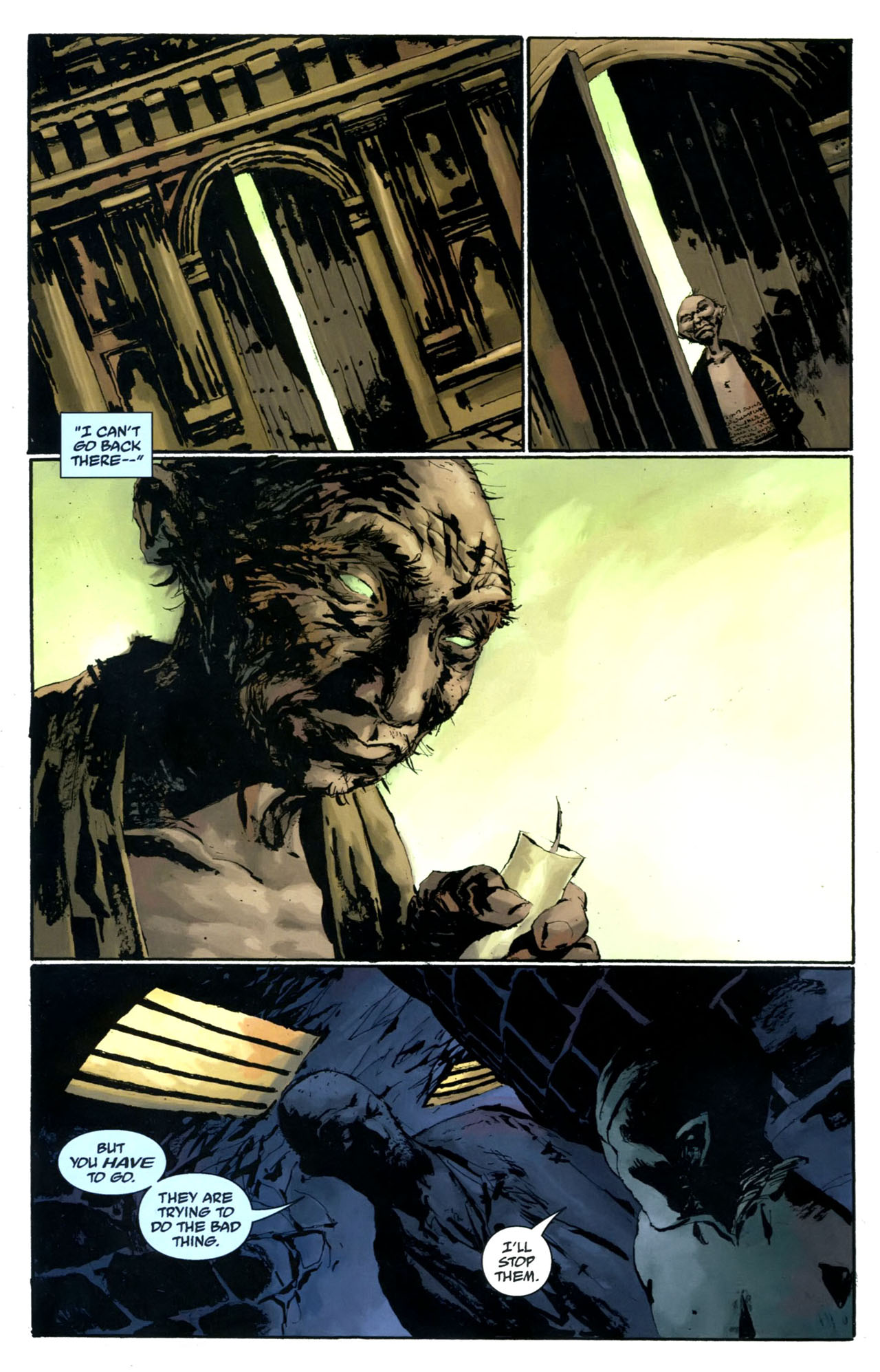 Read online Abe Sapien: The Drowning comic -  Issue #5 - 6