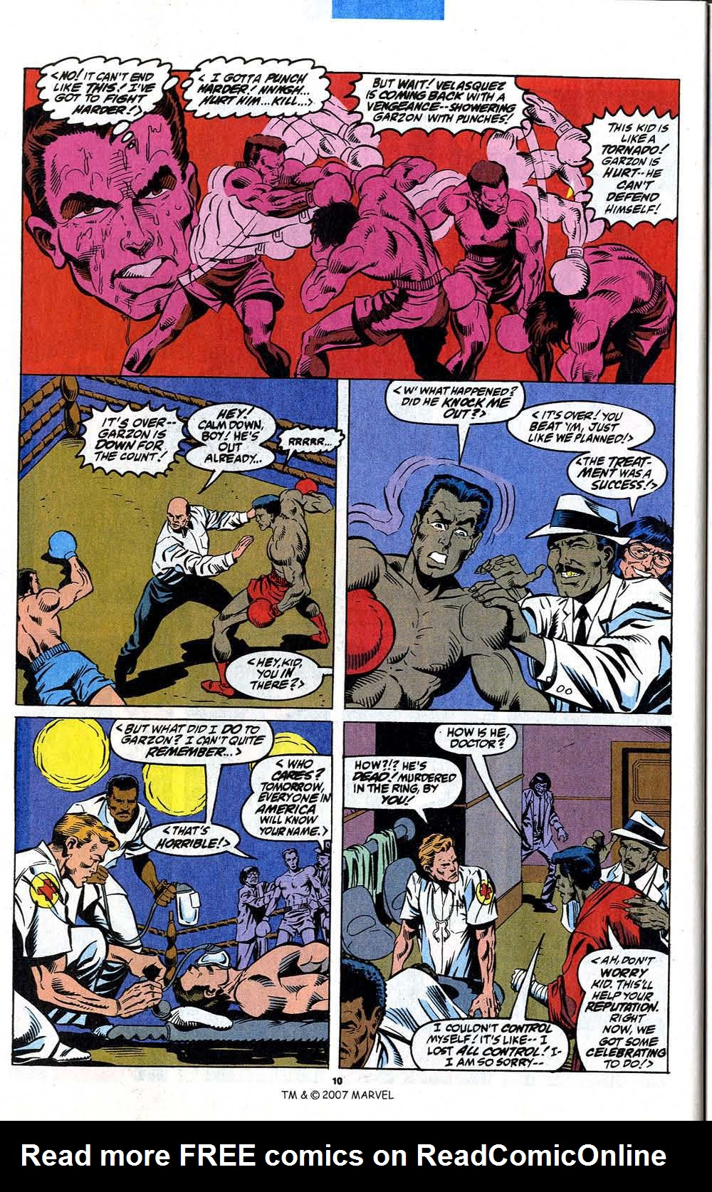 Read online Captain America (1968) comic -  Issue # _Annual 12 - 12