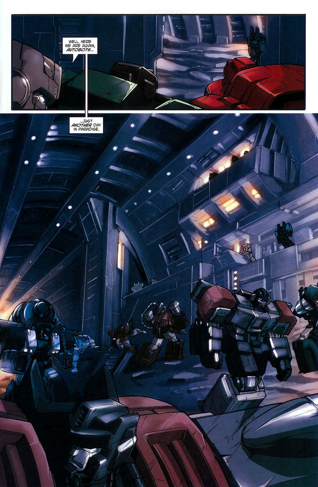 """Read online Transformers War Within: """"The Age of Wrath"""" comic -  Issue #2 - 11"""