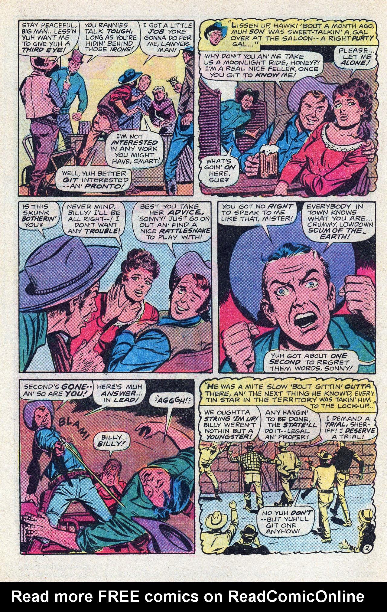 Read online Two-Gun Kid comic -  Issue #128 - 4