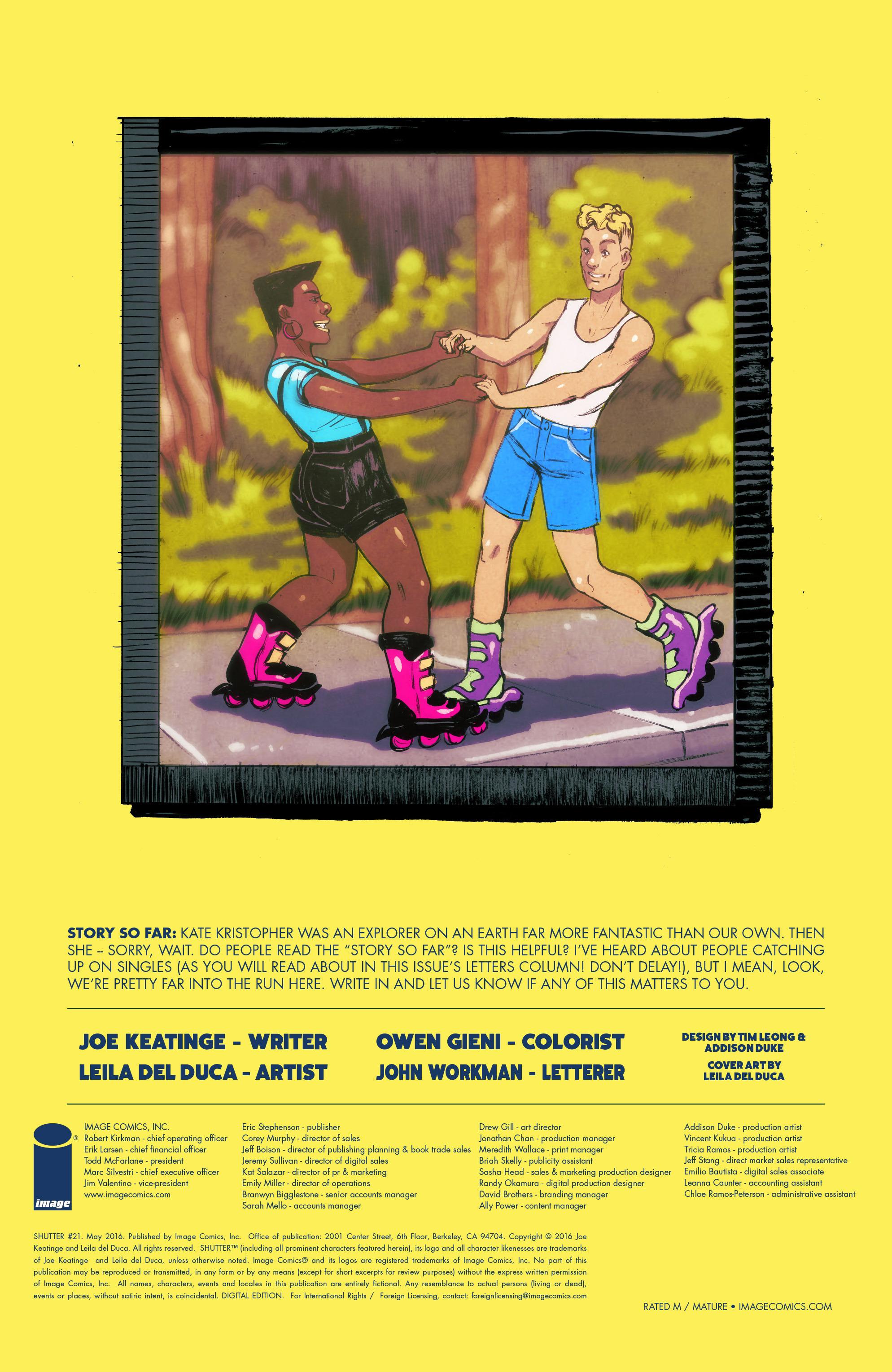 Read online Shutter comic -  Issue #21 - 31
