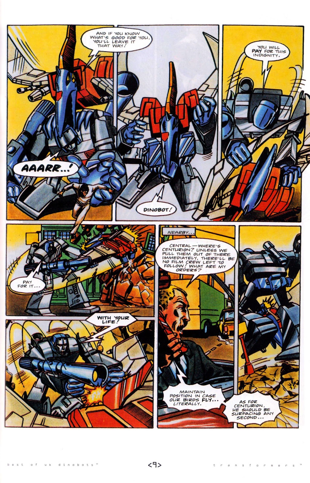 Read online The Transformers: Best of UK: Dinobots comic -  Issue #5 - 11