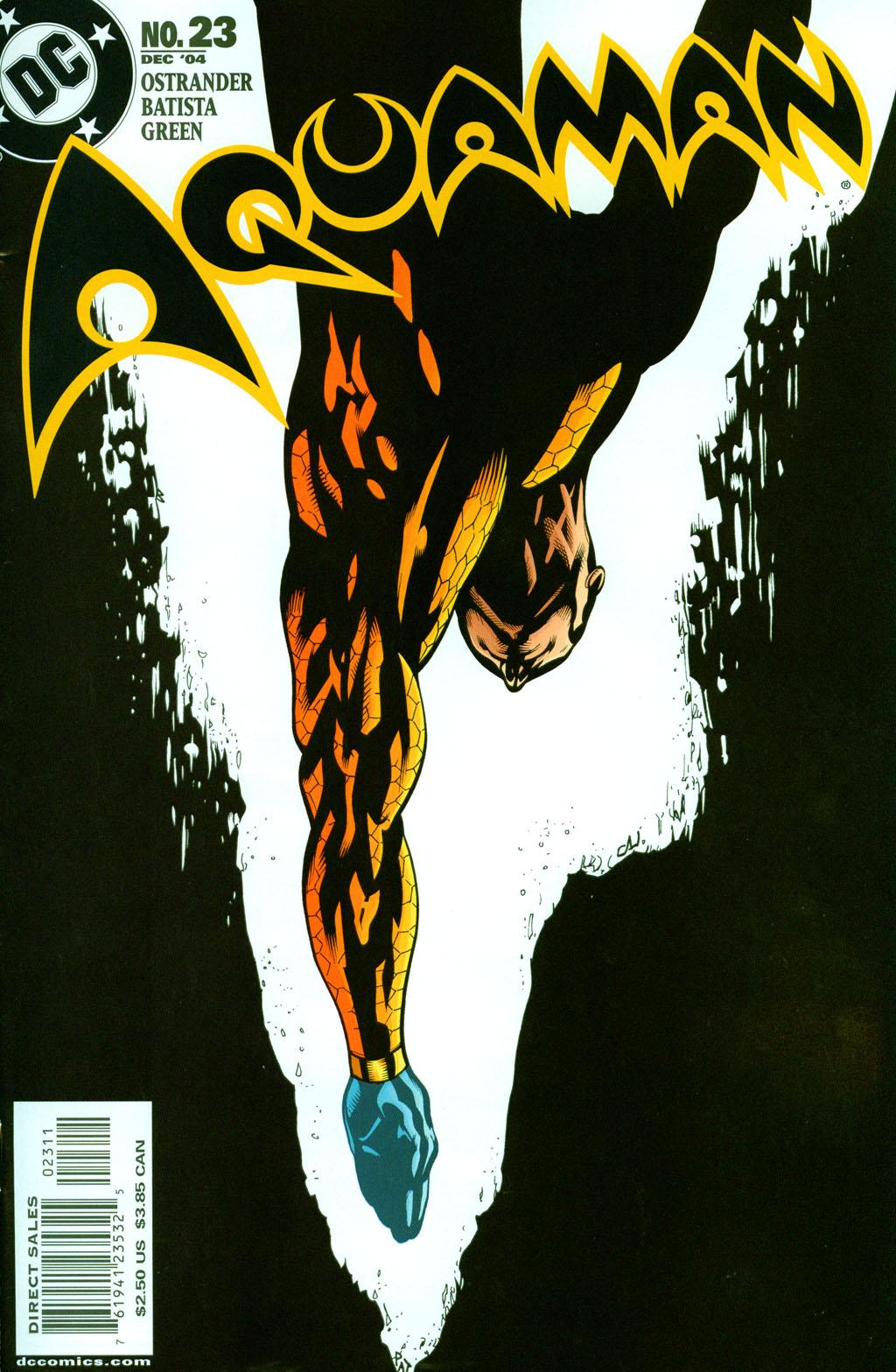 Read online Aquaman (2003) comic -  Issue #23 - 1