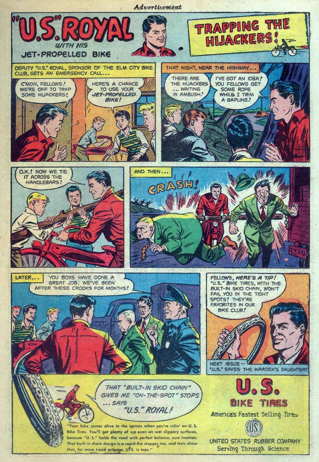 Read online Sensation (Mystery) Comics comic -  Issue #56 - 23