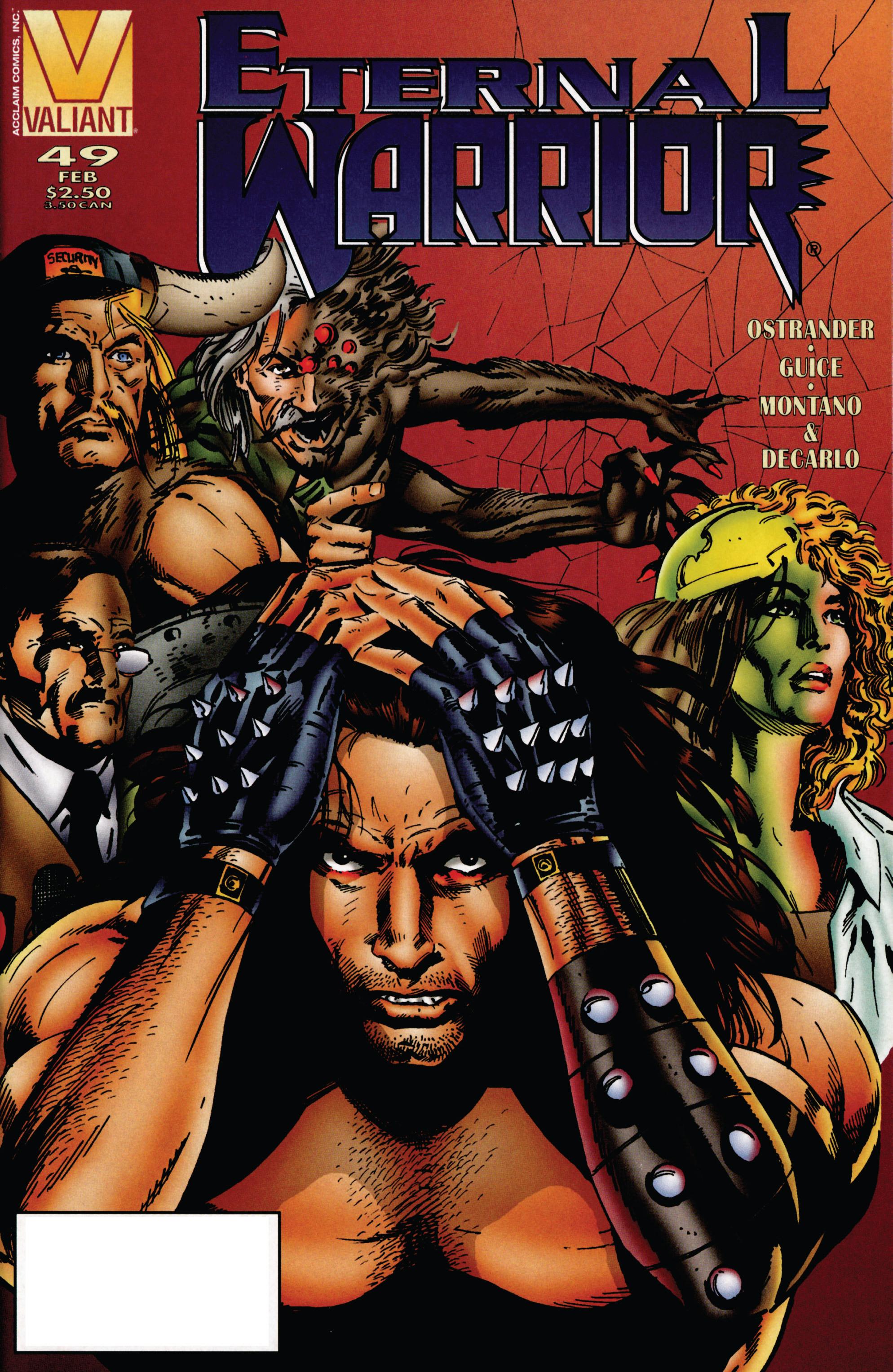 Read online Eternal Warrior (1992) comic -  Issue #49 - 1
