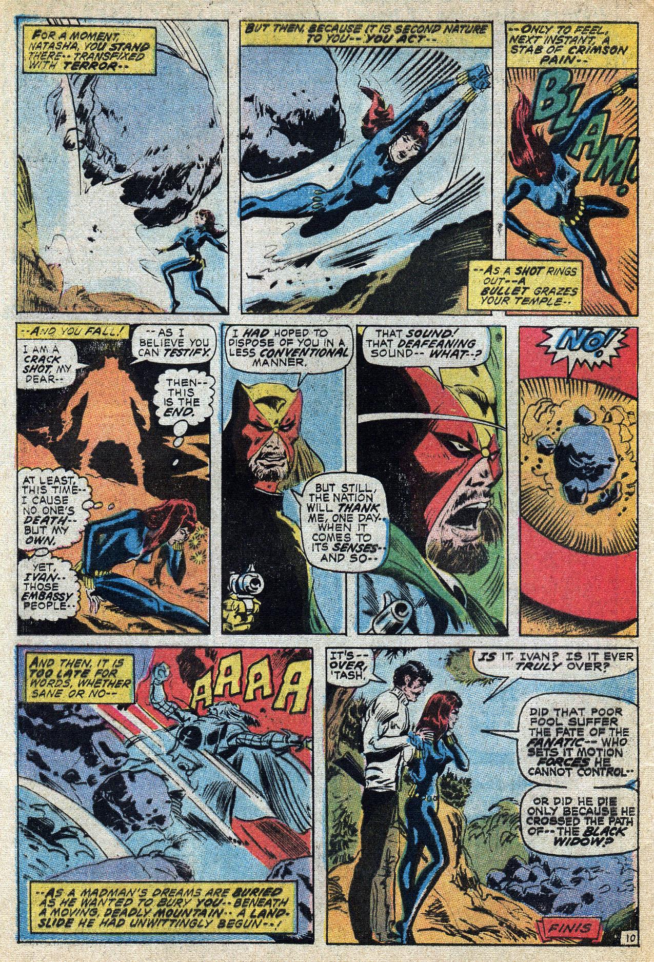 Read online Amazing Adventures (1970) comic -  Issue #8 - 32