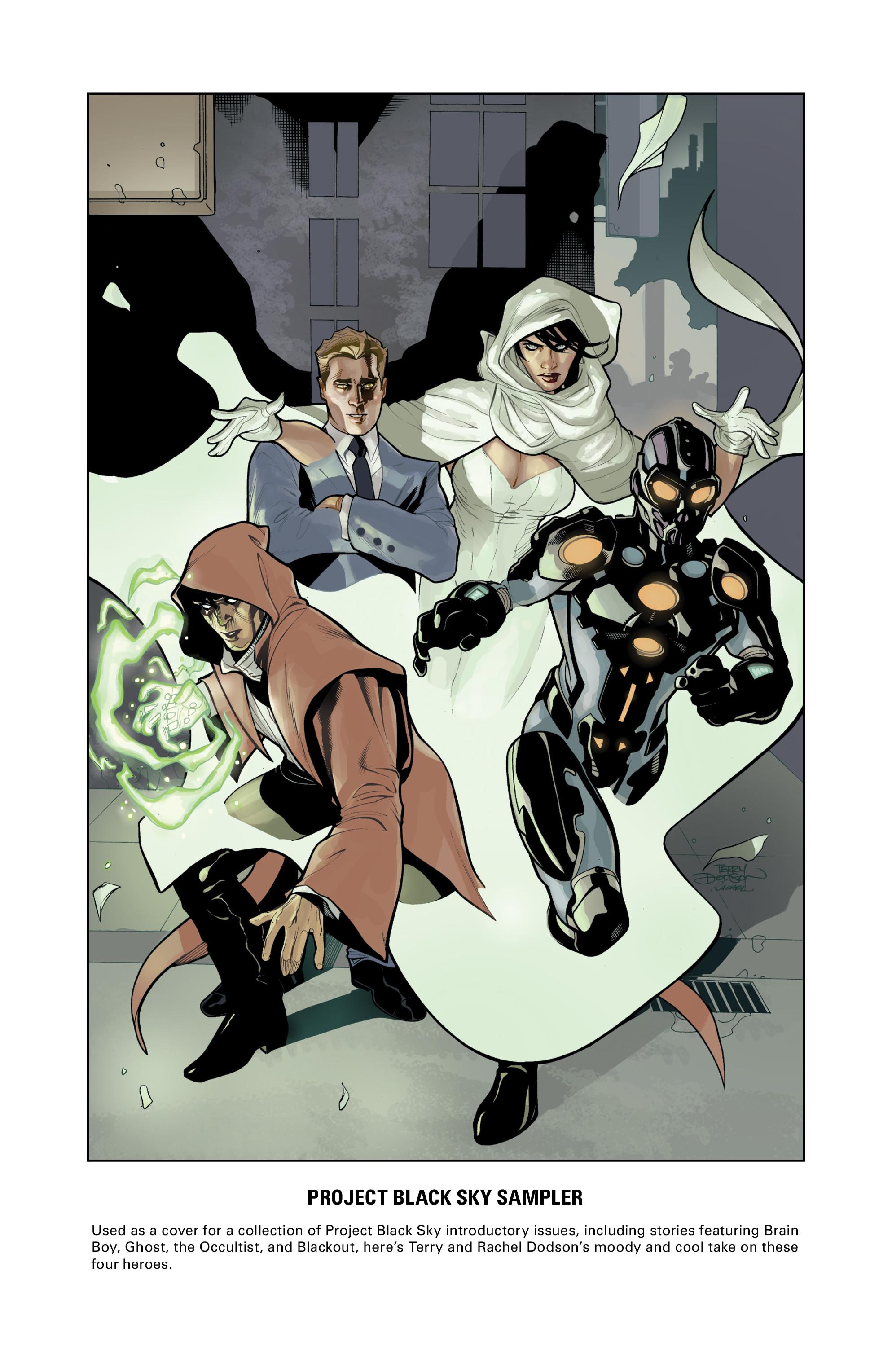 Read online Brain Boy:  The Men from G.E.S.T.A.L.T. comic -  Issue # TPB - 105