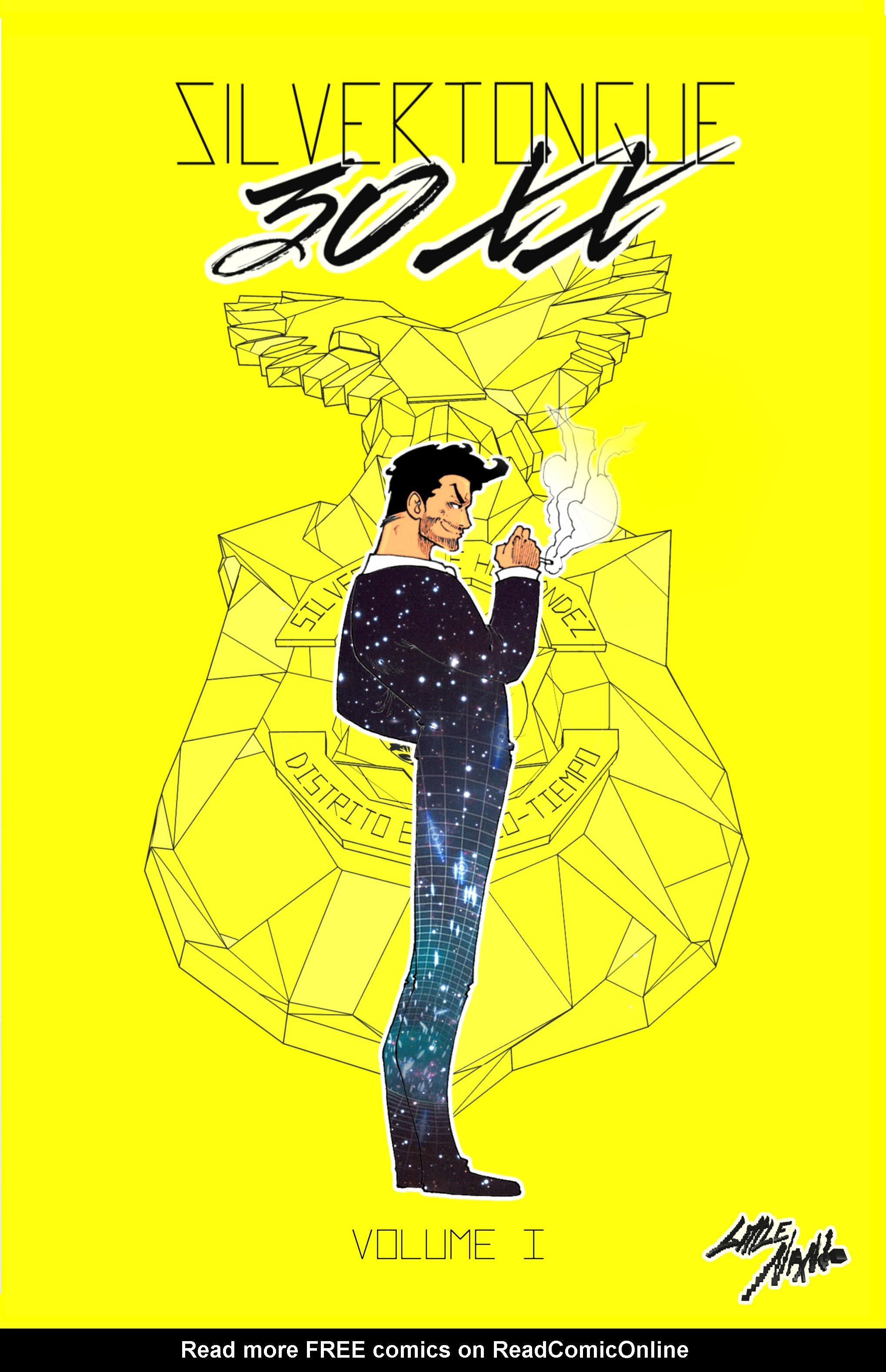 Read online Silvertongue 30xx Vol. 1 comic -  Issue # Full - 1