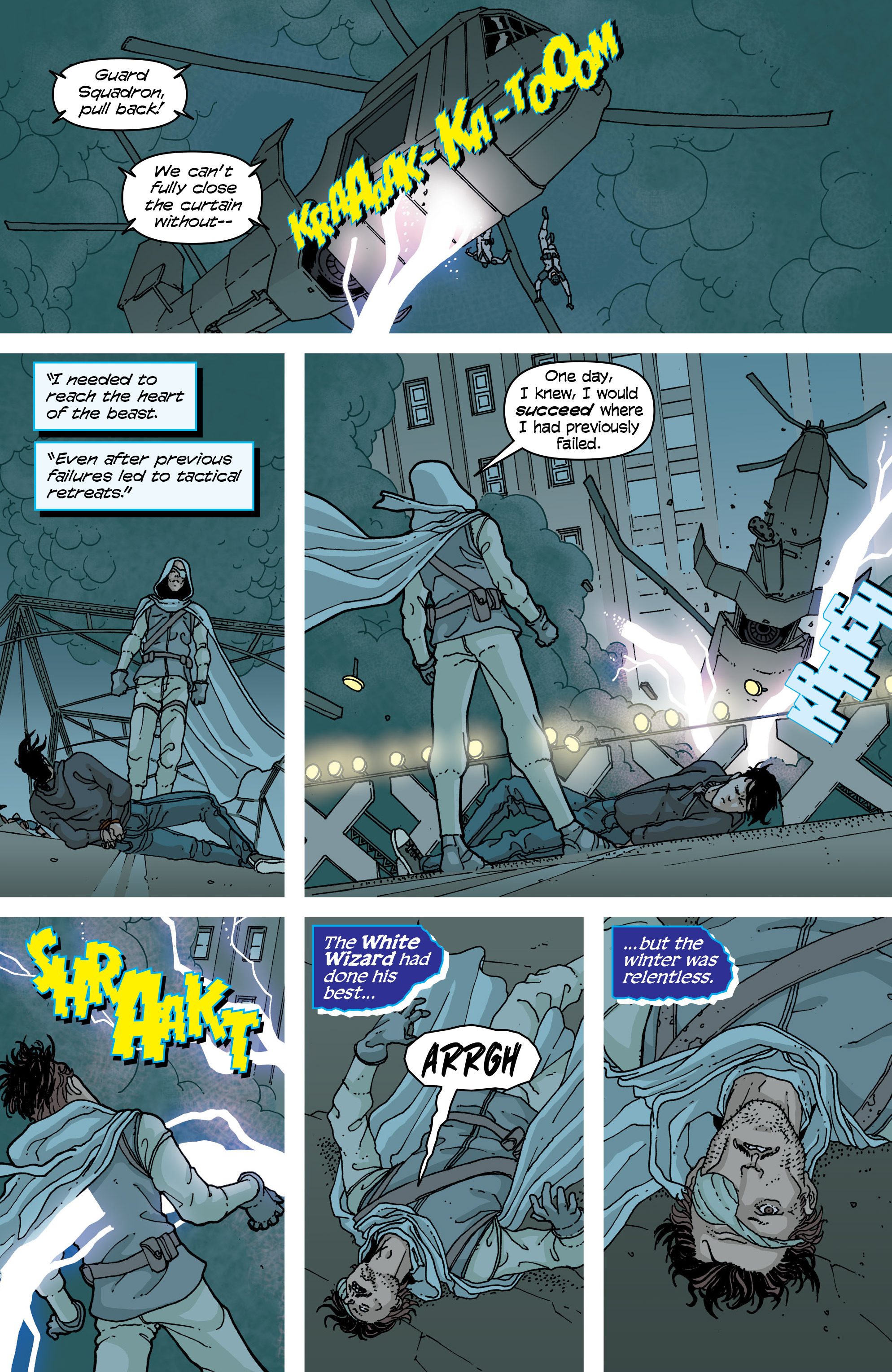 Read online Snowfall comic -  Issue #5 - 22