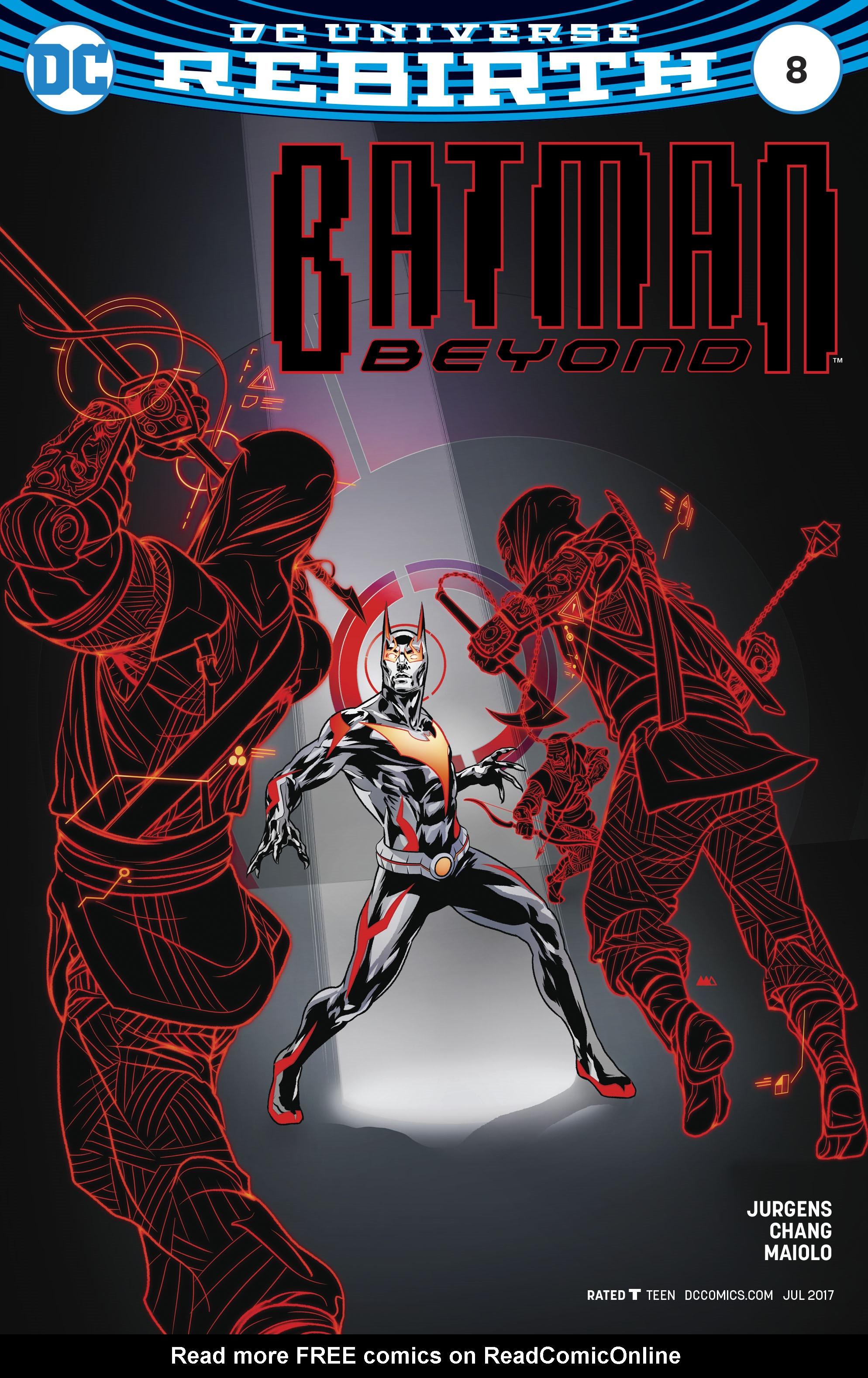 Read online Batman Beyond (2016) comic -  Issue #8 - 3