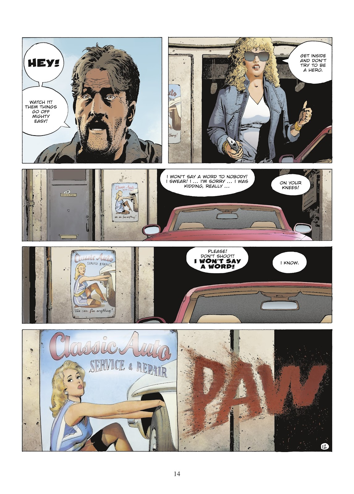 XIII Mystery issue 9 - Page 16