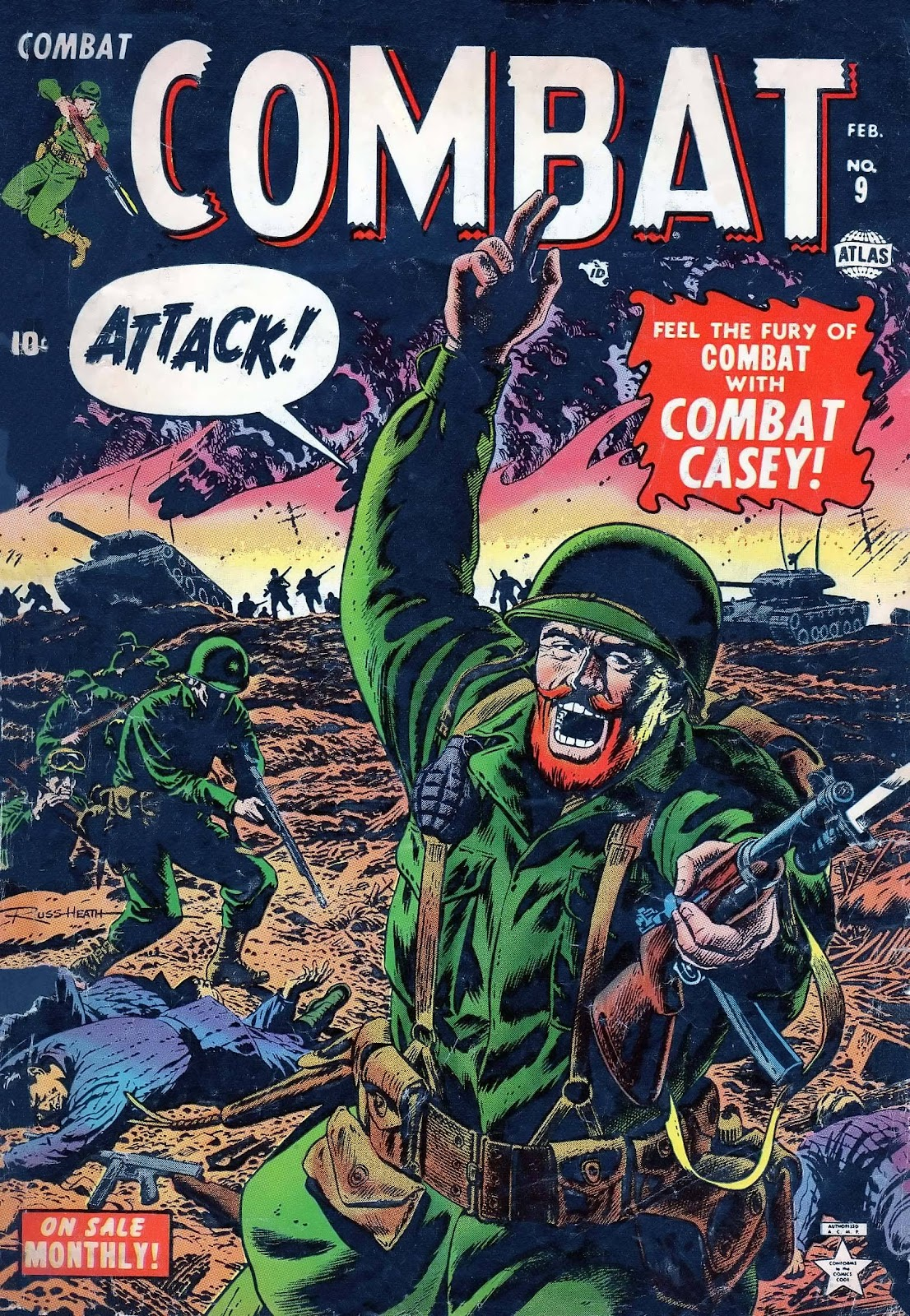 Combat (1952) issue 9 - Page 1