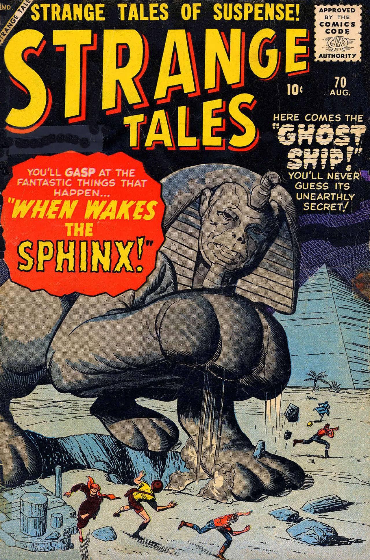 Strange Tales (1951) 70 Page 1