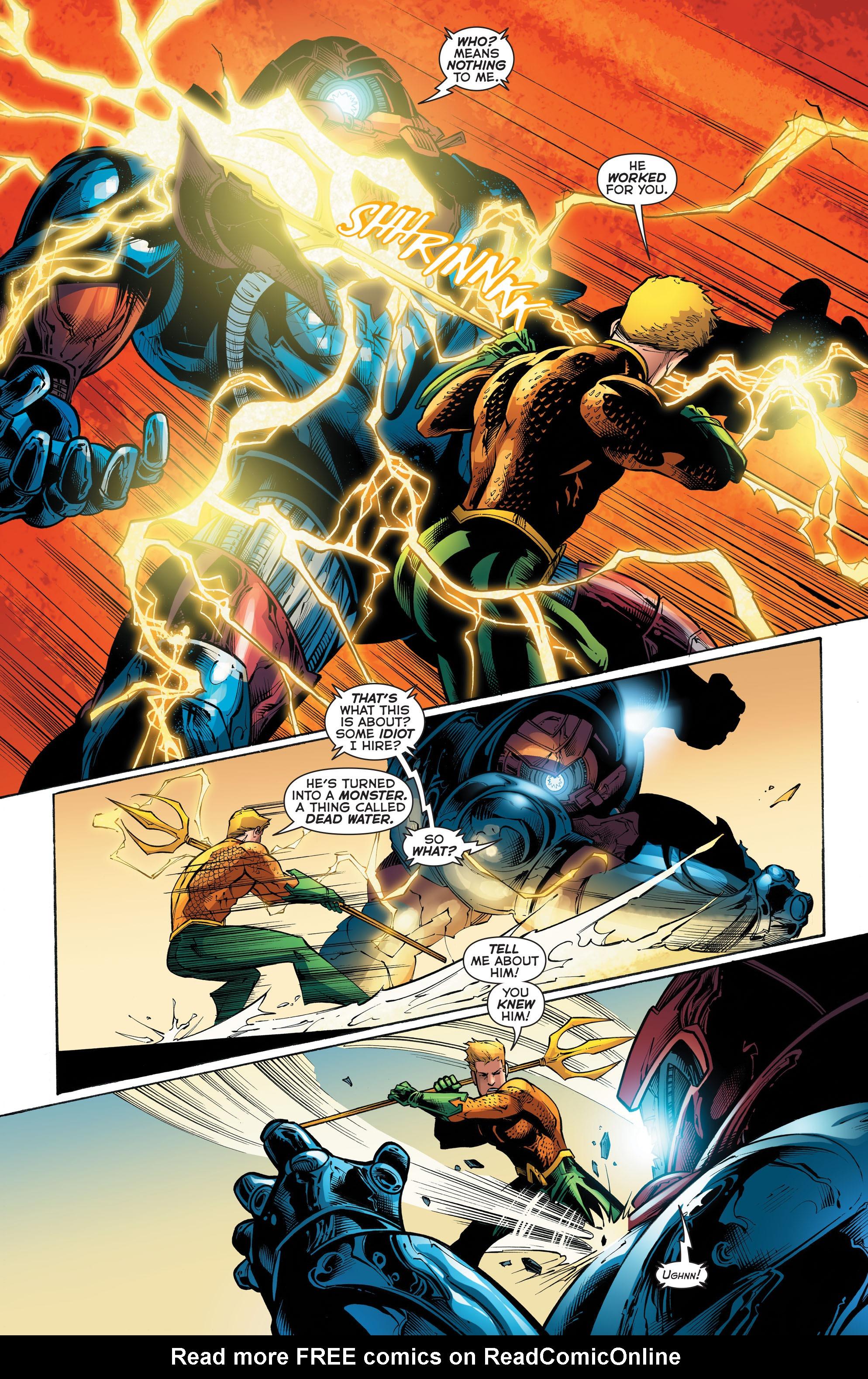 Read online Aquaman (2011) comic -  Issue #52 - 11