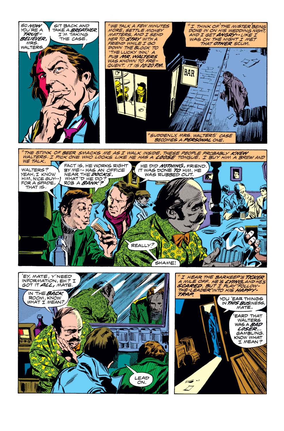 Tomb of Dracula (1972) issue 25 - Page 8