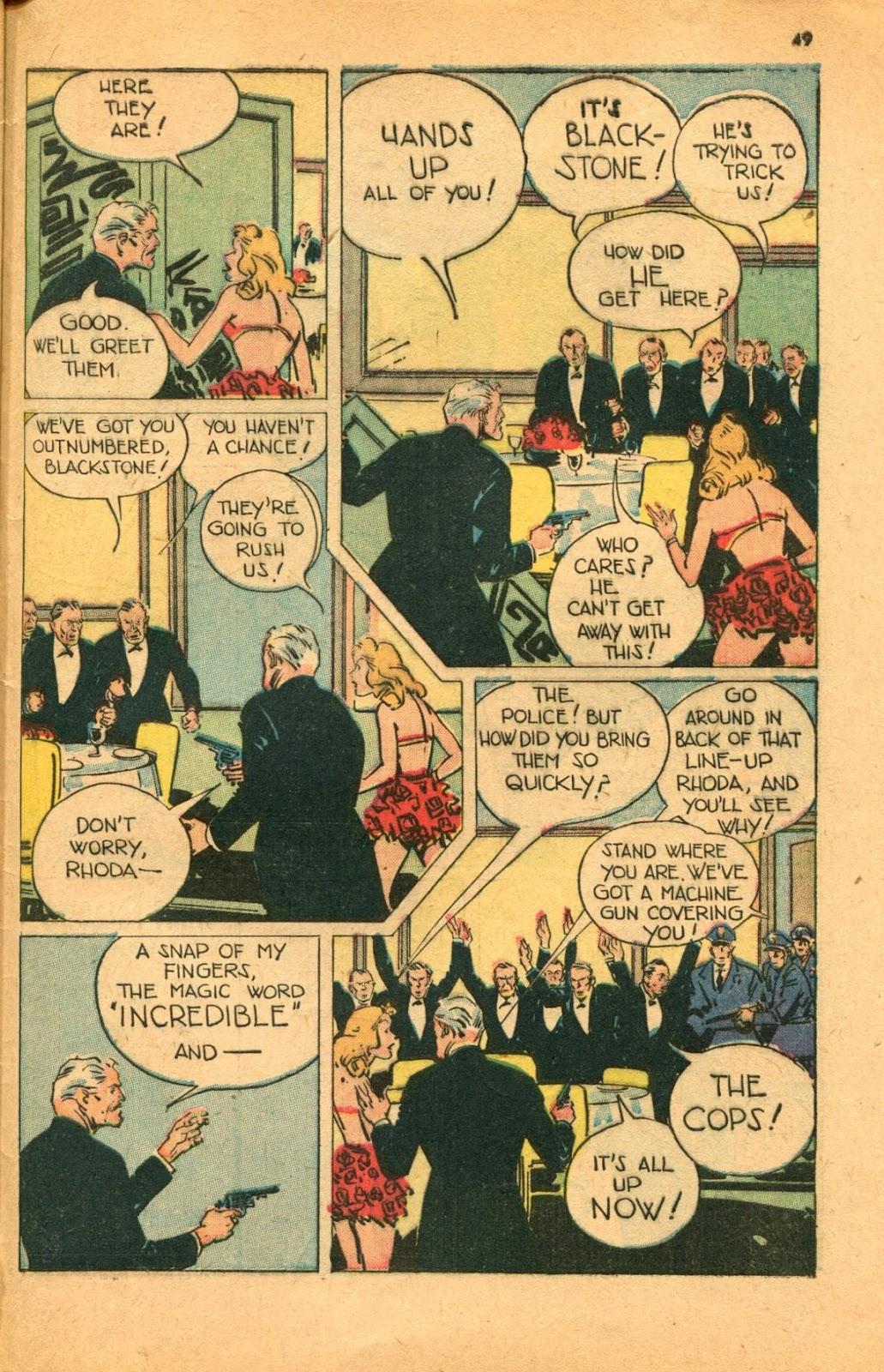 Read online Super-Magician Comics comic -  Issue #46 - 49