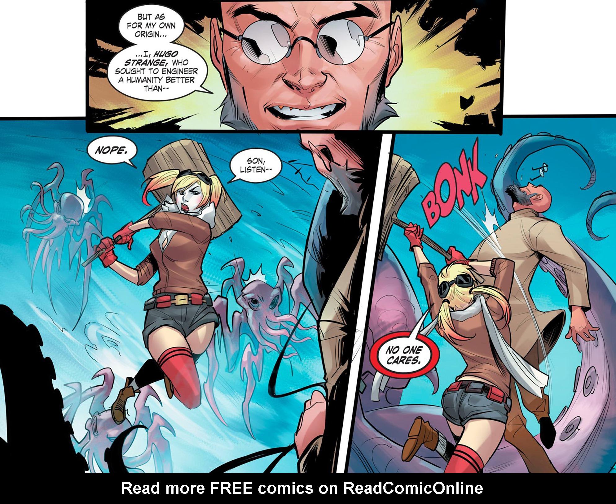 Read online DC Comics: Bombshells comic -  Issue #95 - 13