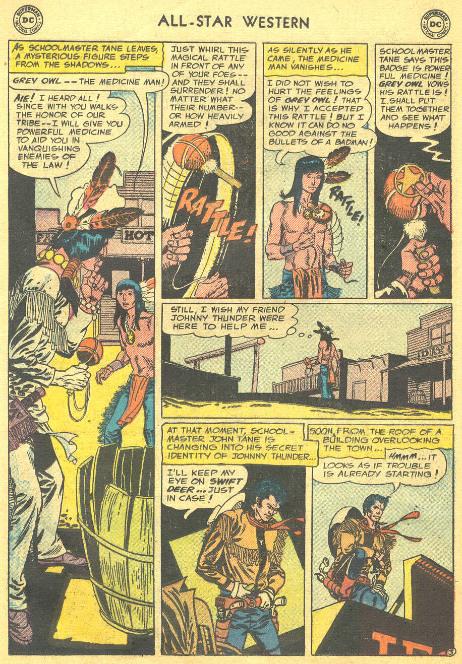 Read online All-Star Western (1951) comic -  Issue #88 - 12