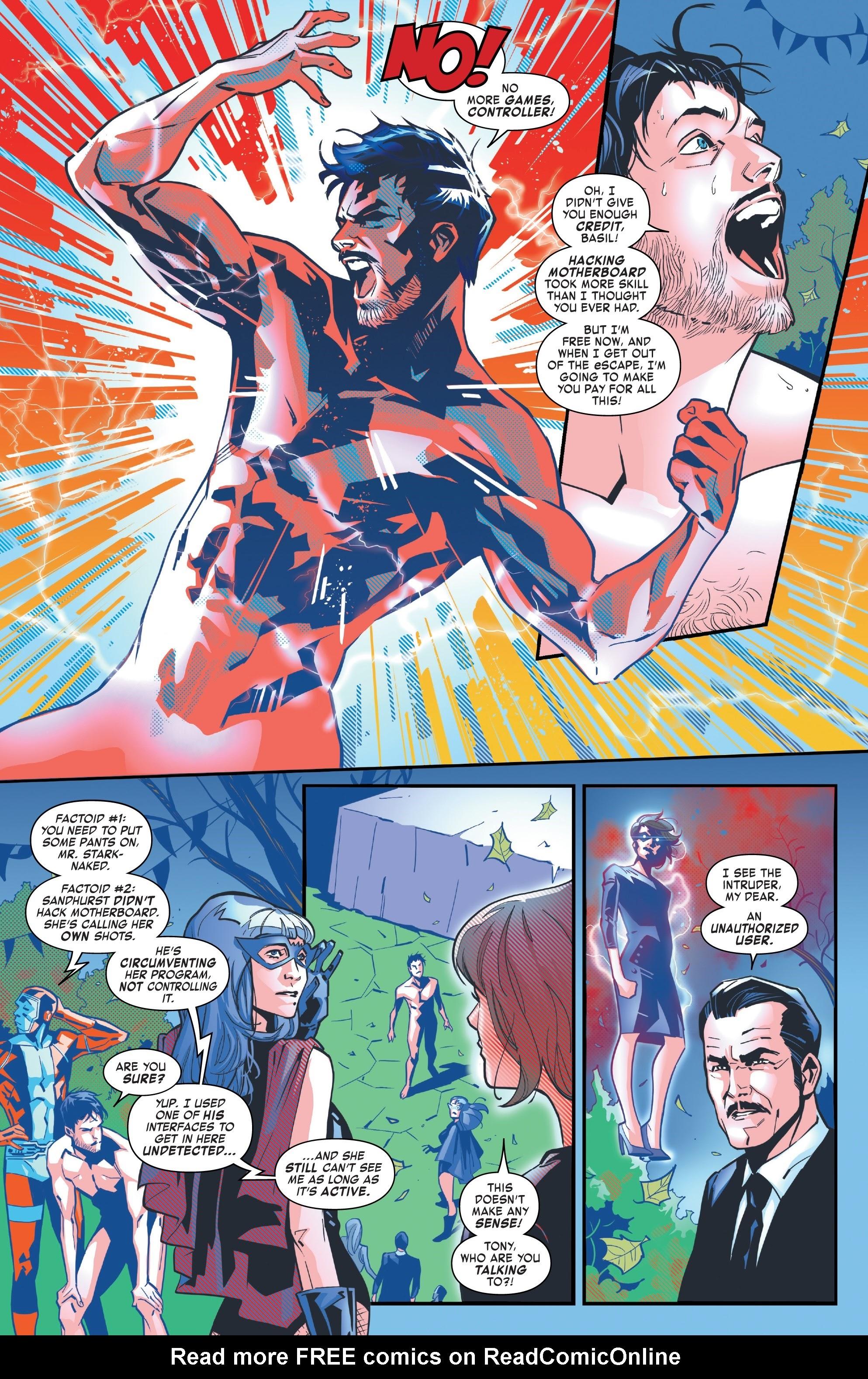 Read online Tony Stark: Iron Man comic -  Issue #10 - 7