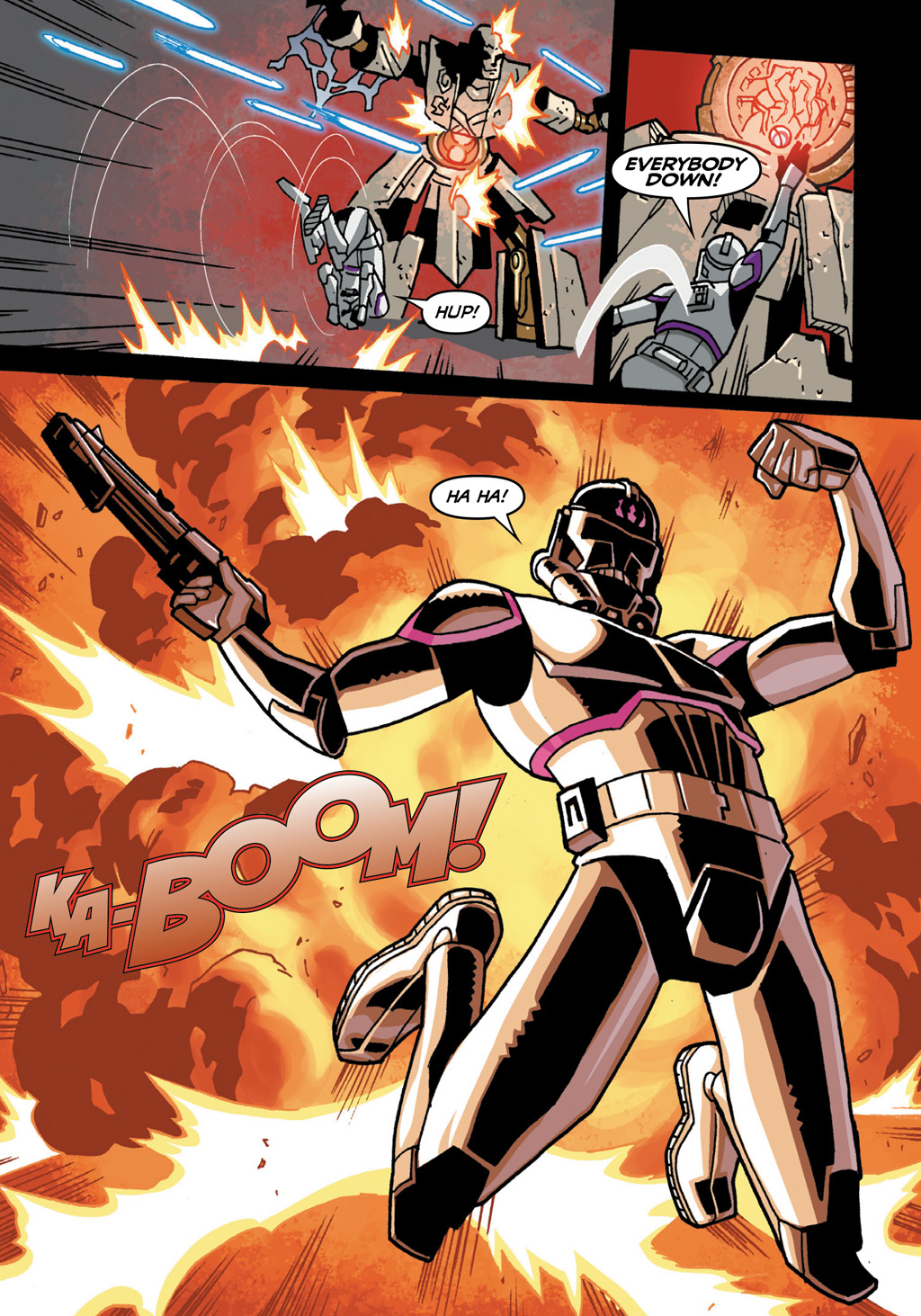 Read online Star Wars: The Clone Wars - Defenders of the Lost Temple comic -  Issue # Full - 17