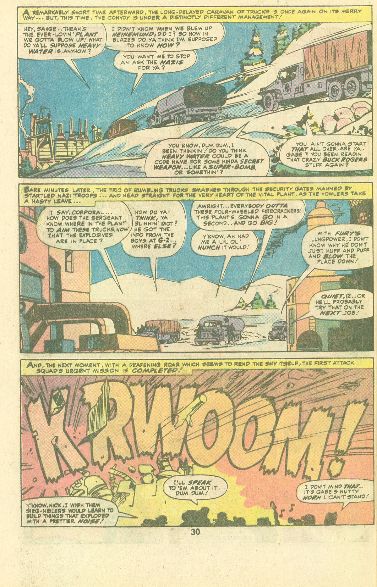 Read online Sgt. Fury comic -  Issue #134 - 32