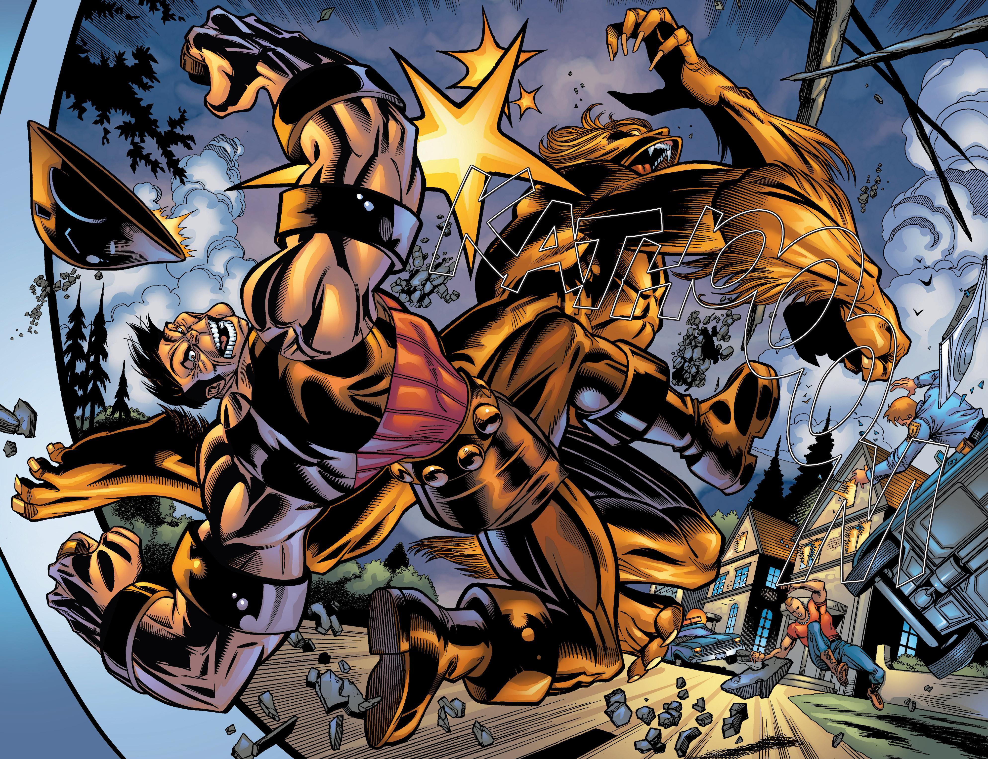 Read online Uncanny X-Men (1963) comic -  Issue #422 - 21