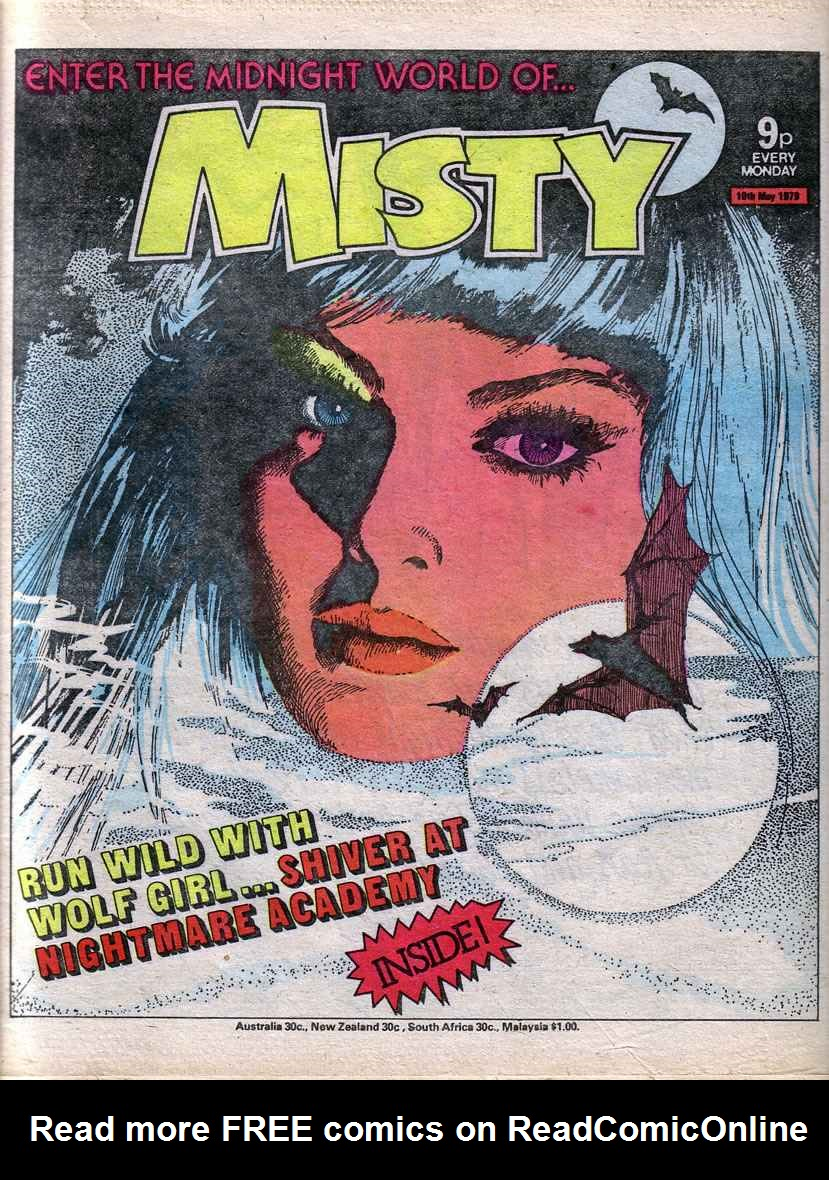 Read online Misty comic -  Issue #67 - 1