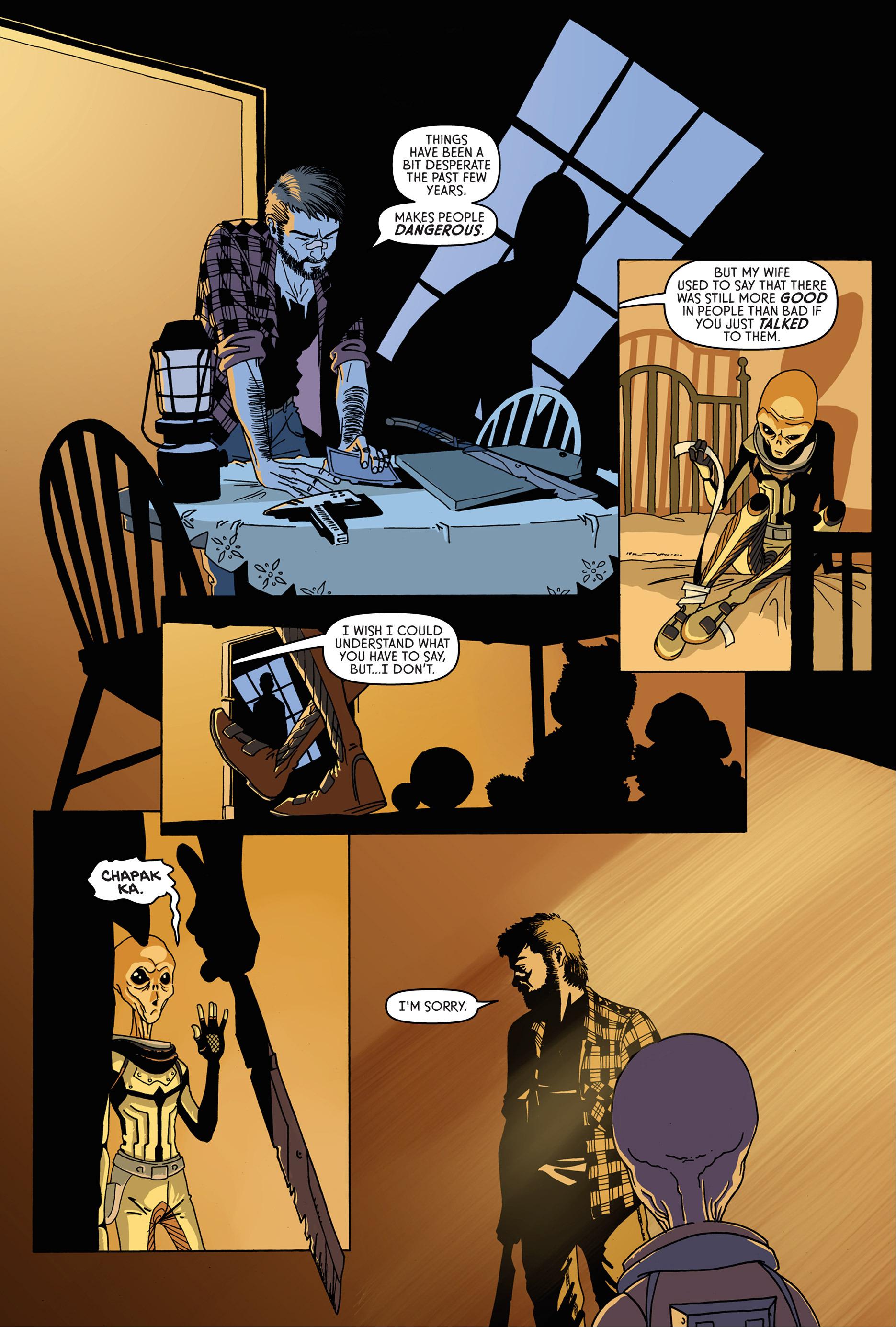 Read online Trespasser comic -  Issue #1 - 21