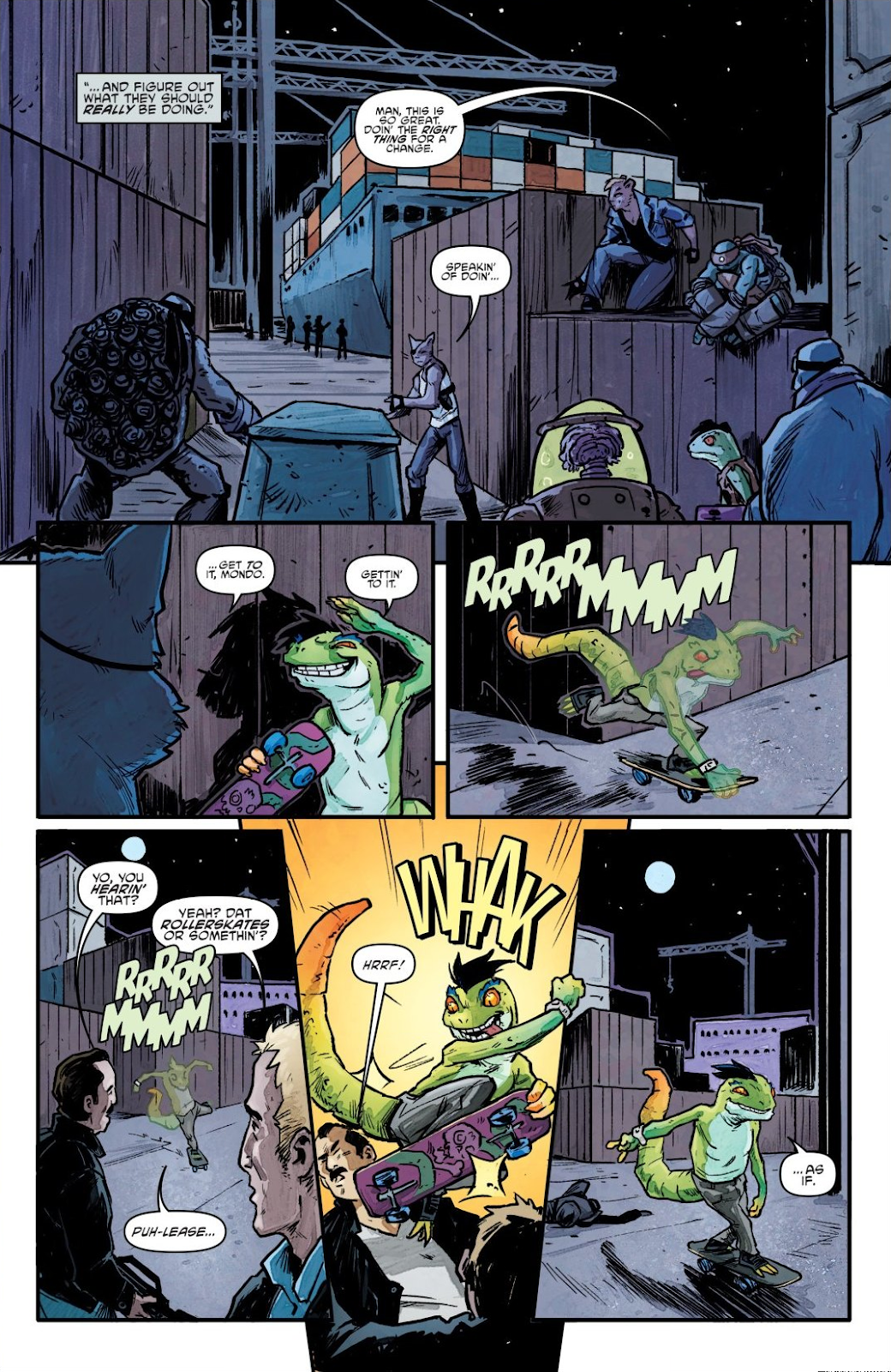 Read online Teenage Mutant Ninja Turtles: The IDW Collection comic -  Issue # TPB 7 (Part 1) - 65