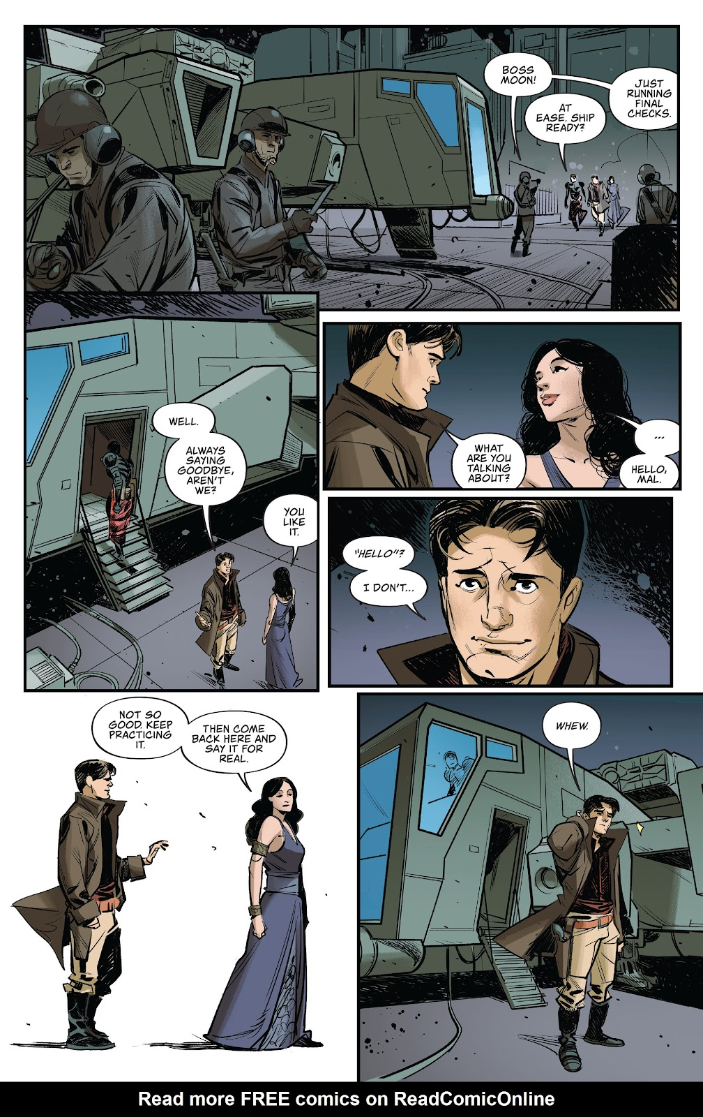 Read online Firefly: The Outlaw Ma Reynolds comic -  Issue # Full - 10