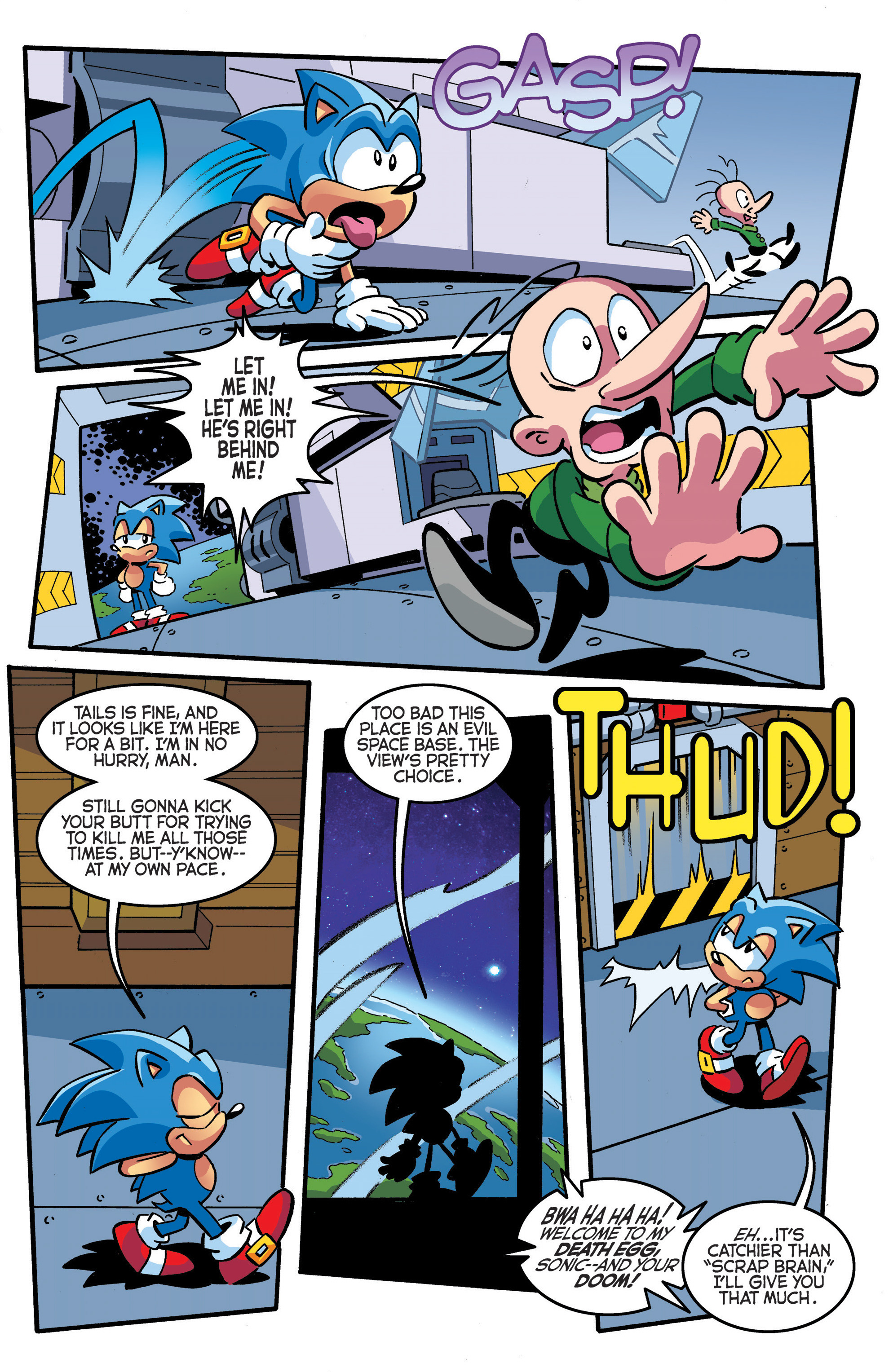 Read online Sonic The Hedgehog comic -  Issue #289 - 17